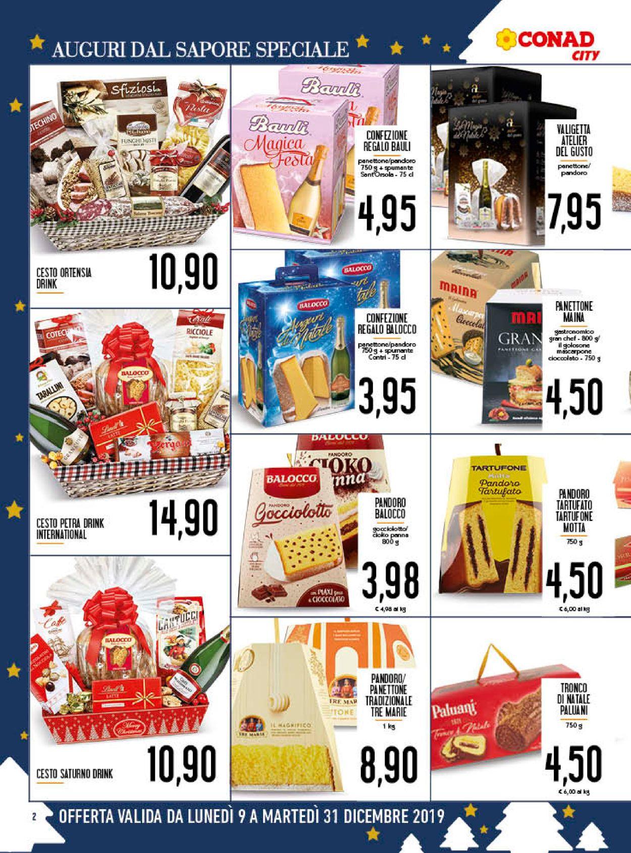 Volantino Il volantino natalizio di Conad - Offerte 09/12-31/12/2019 (Pagina 2)