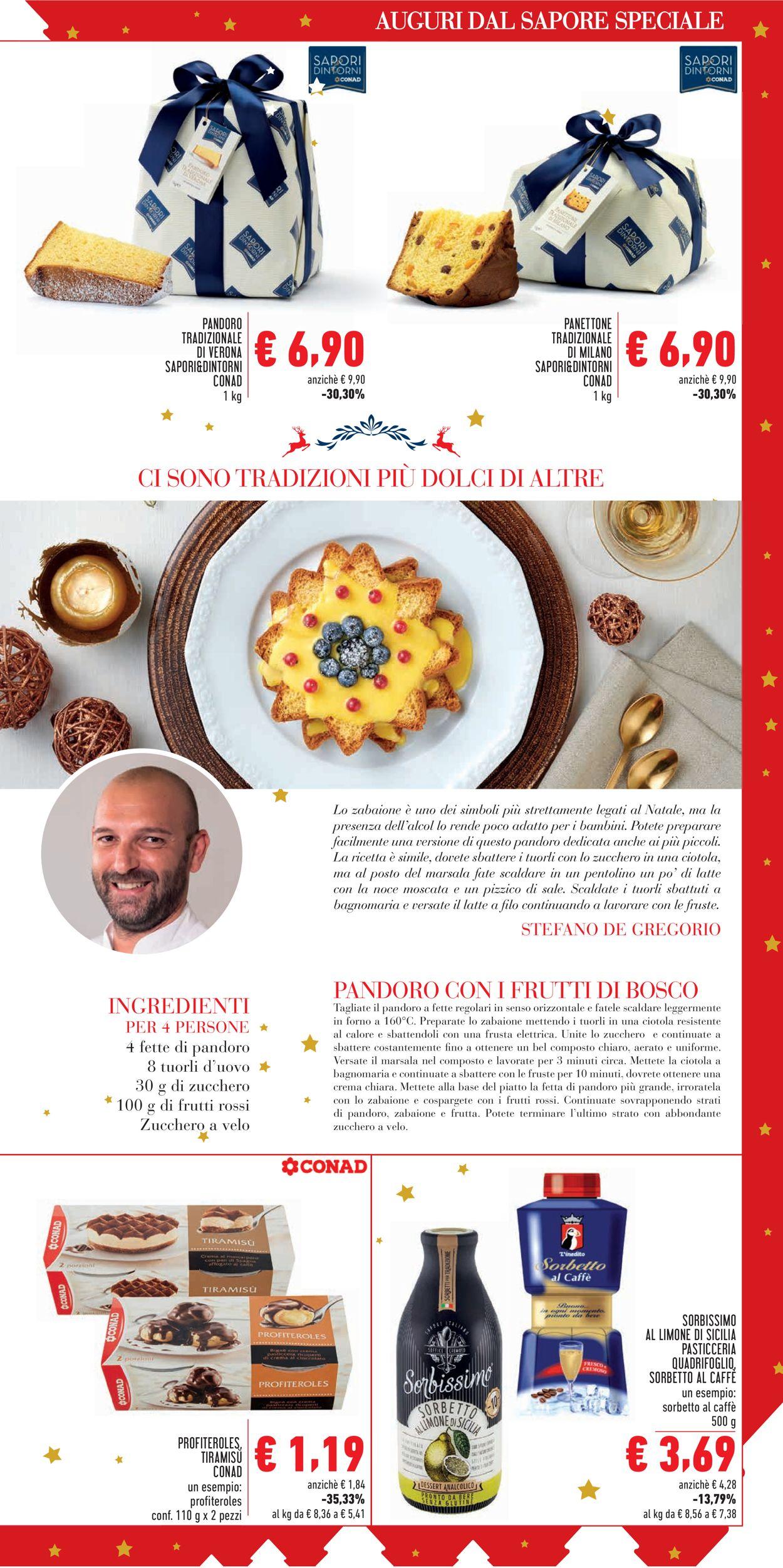 Volantino Il volantino natalizio di Conad - Offerte 18/12-24/12/2019 (Pagina 3)