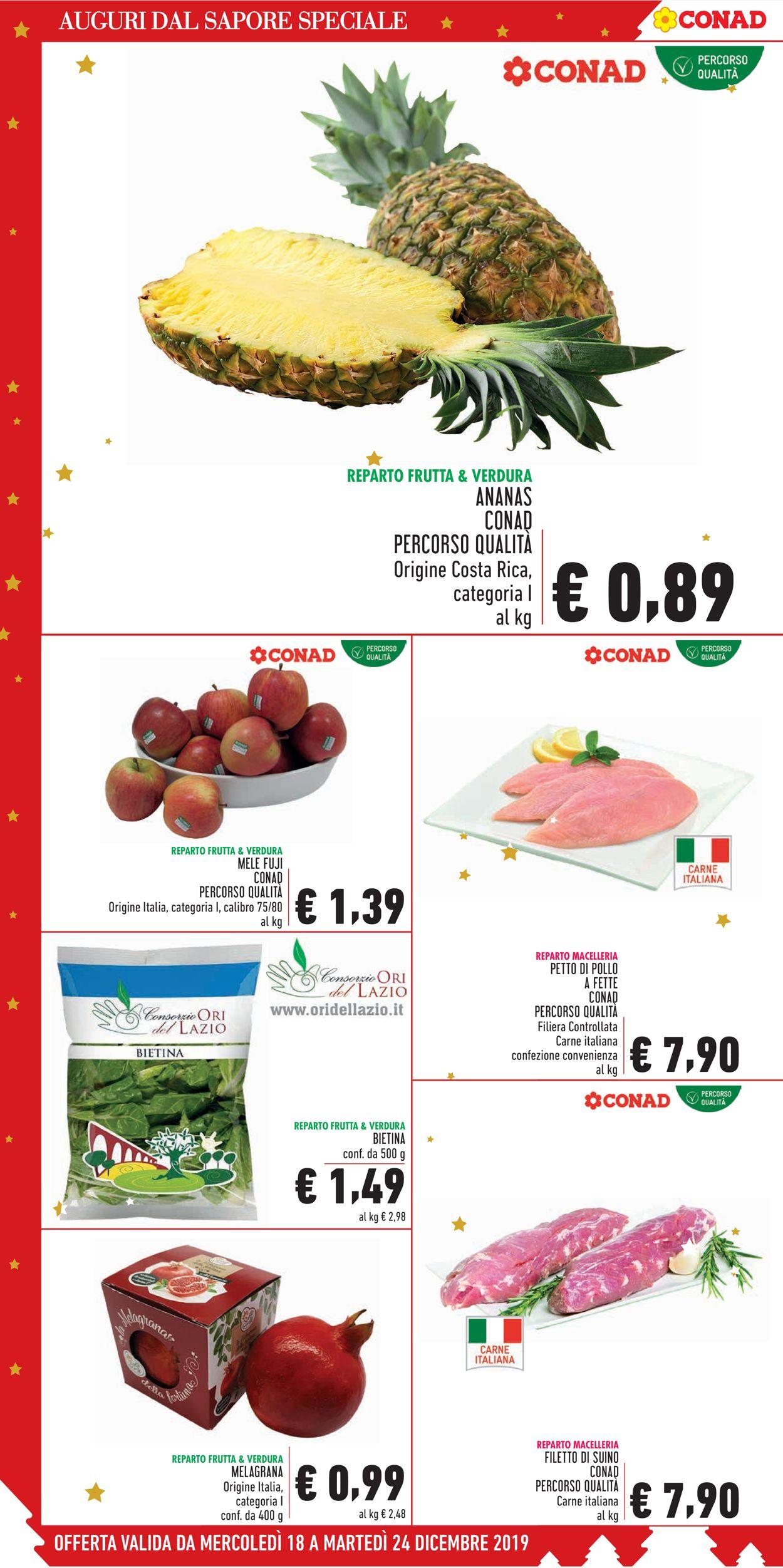 Volantino Il volantino natalizio di Conad - Offerte 18/12-24/12/2019 (Pagina 4)