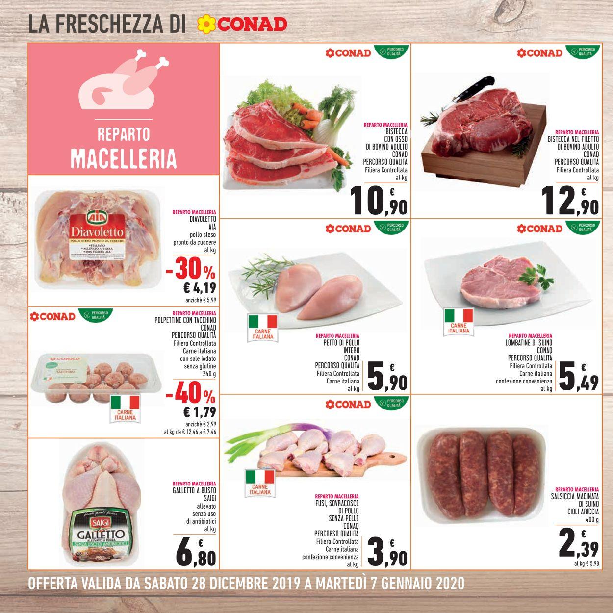 Volantino Conad - Offerte 28/12-07/01/2020 (Pagina 4)