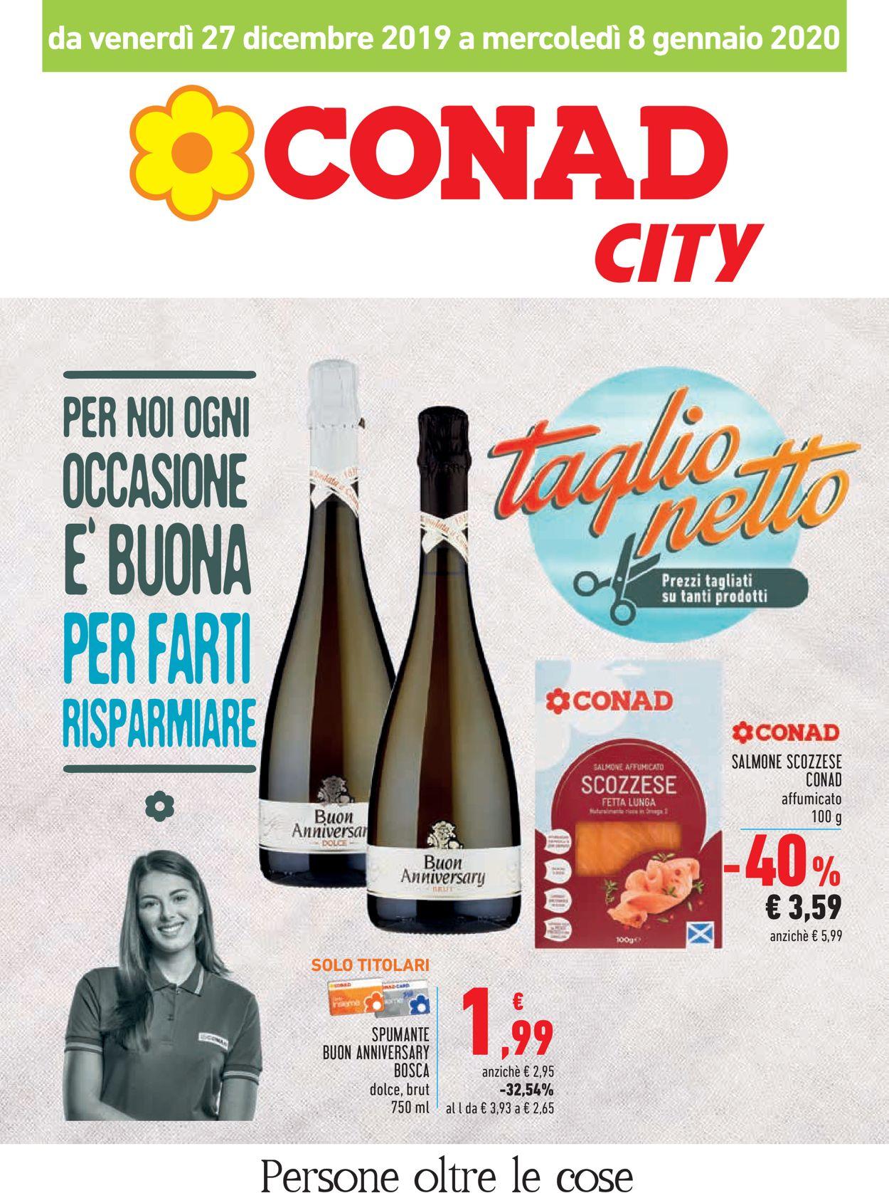 Volantino Conad - Offerte 27/12-08/01/2020