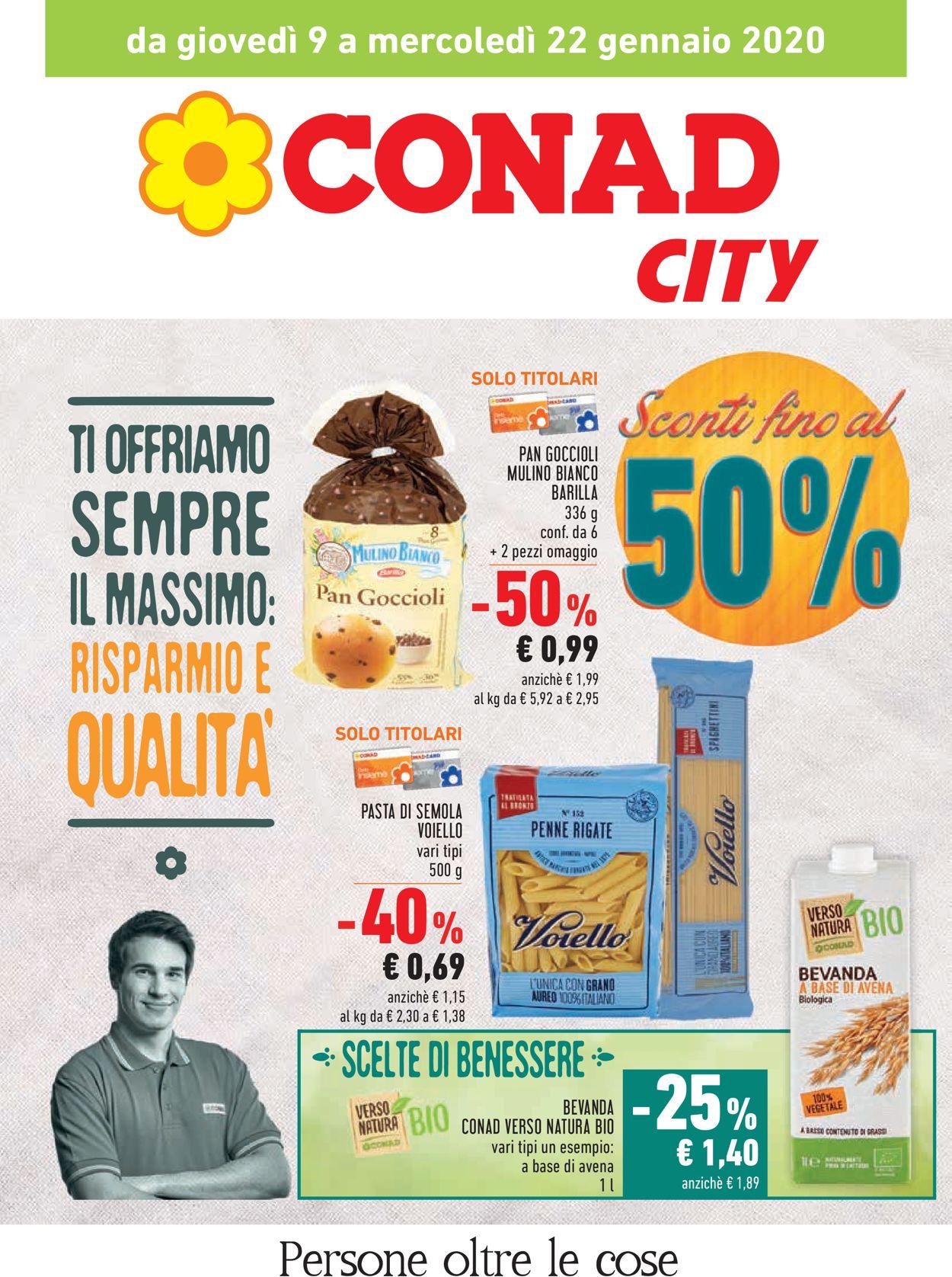 Volantino Conad - Offerte 09/01-22/01/2020
