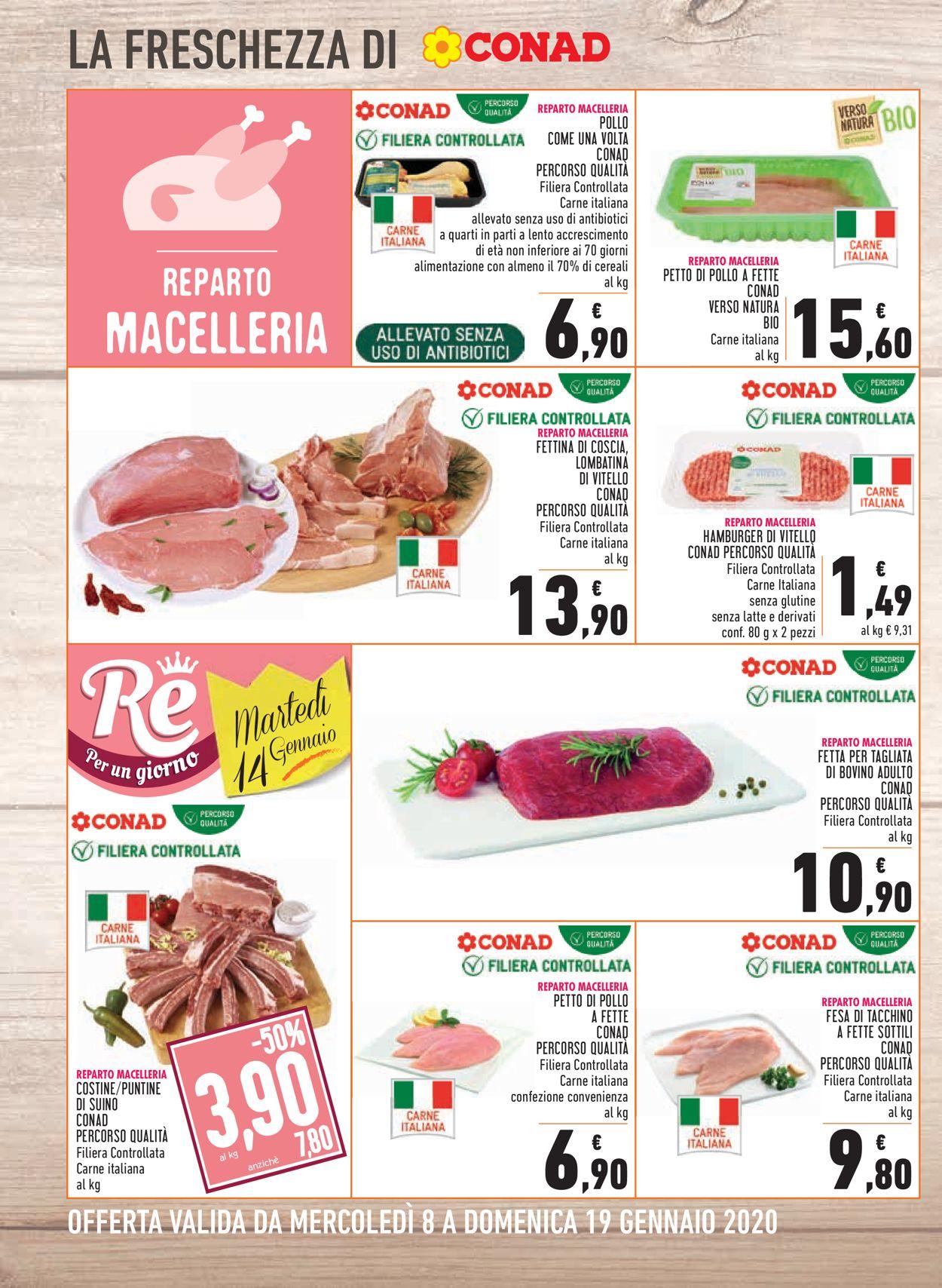 Volantino Conad - Offerte 08/01-19/01/2020 (Pagina 4)
