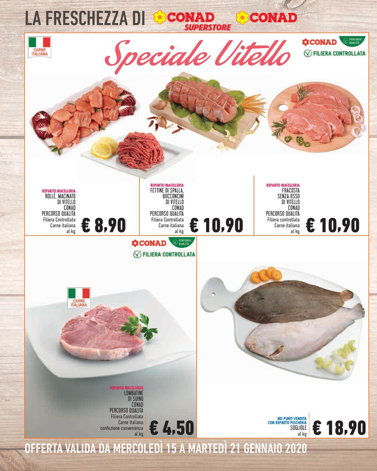 Volantino Conad - Offerte 15/01-21/01/2020 (Pagina 2)