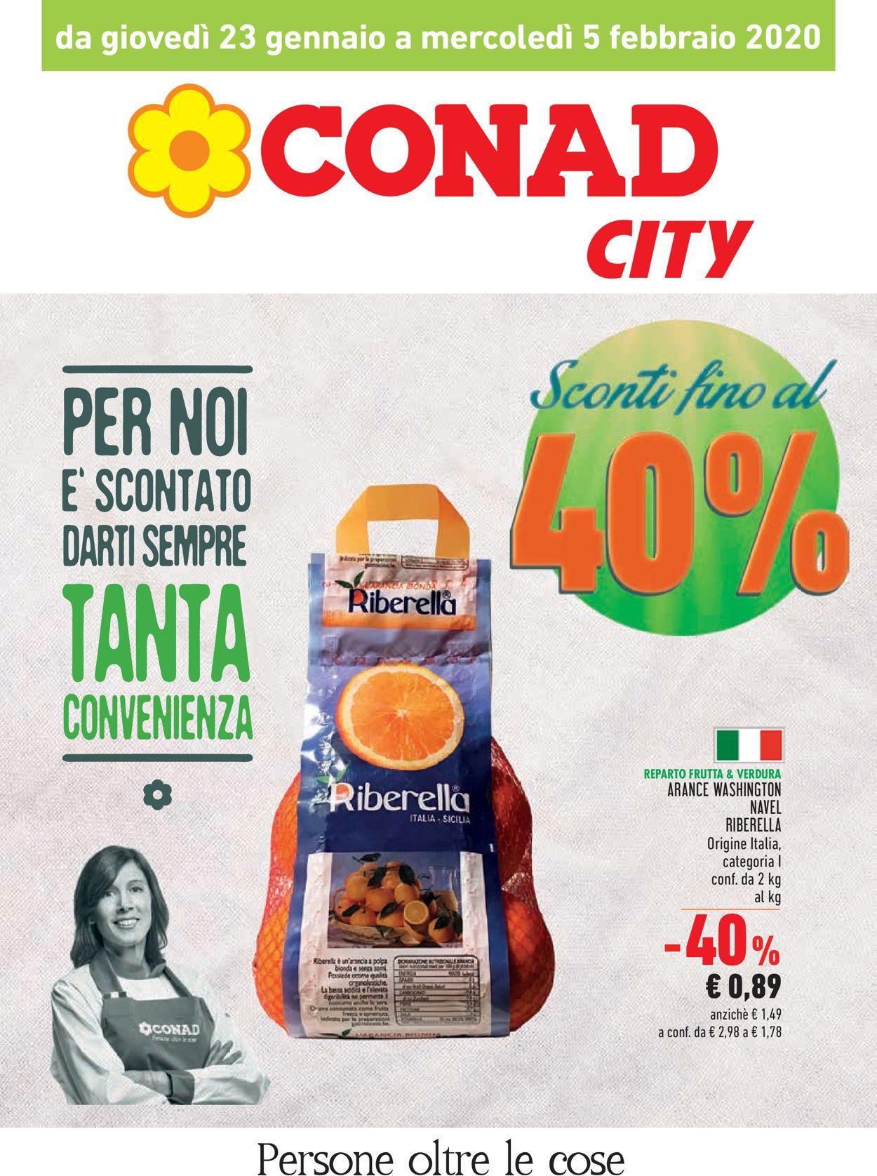 Volantino Conad - Offerte 23/01-05/02/2020