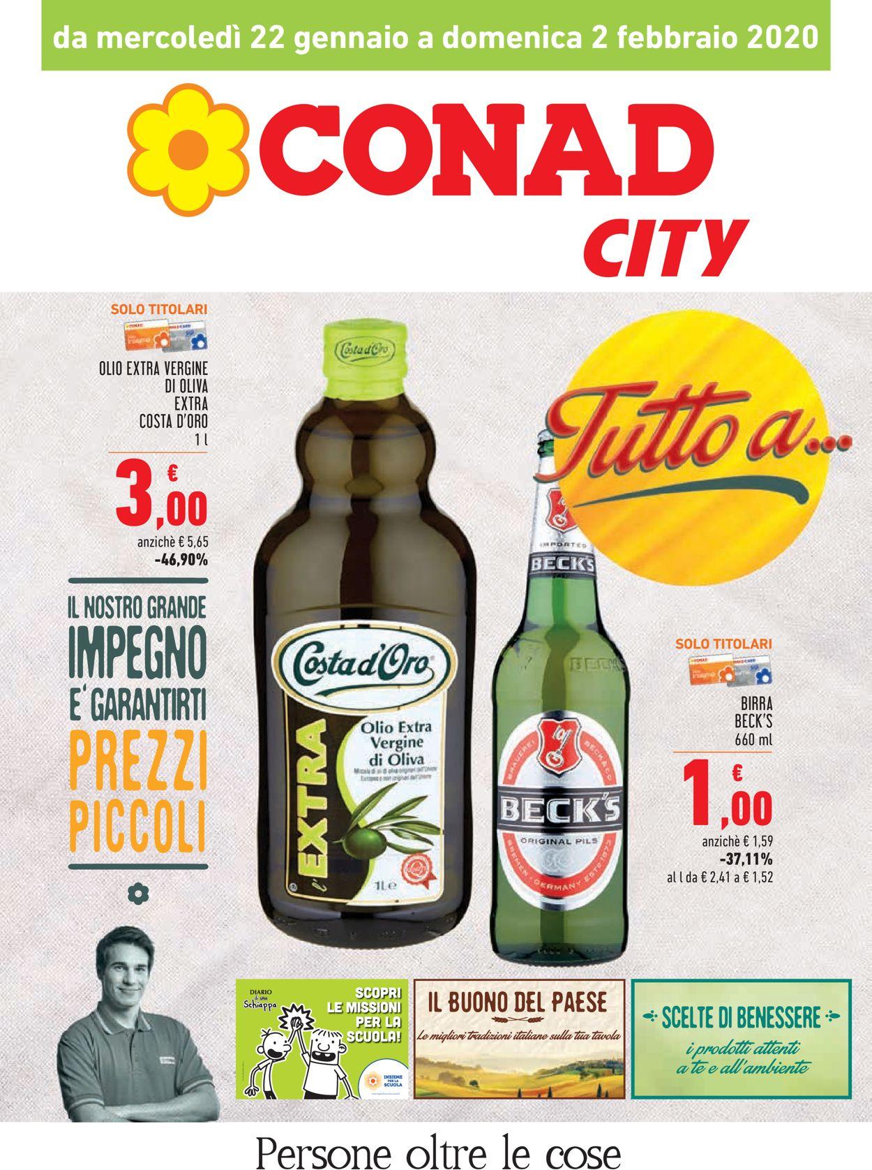 Volantino Conad - Offerte 22/01-02/02/2020