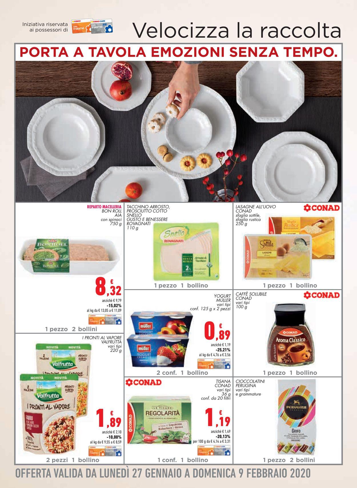 Volantino Conad - Offerte 22/01-02/02/2020 (Pagina 18)