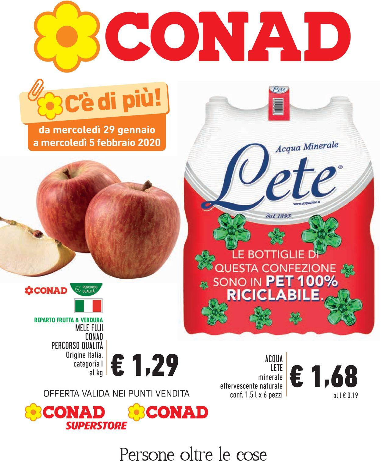 Volantino Conad - Offerte 29/01-05/02/2020