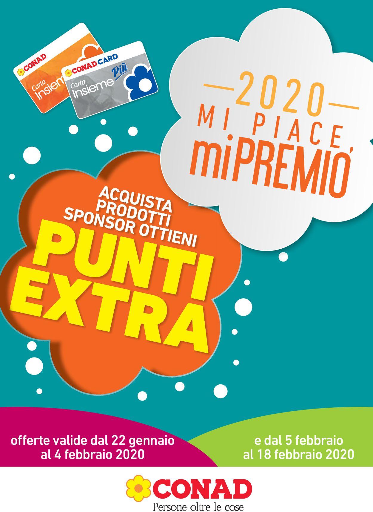 Volantino Conad - Offerte 22/01-18/02/2020
