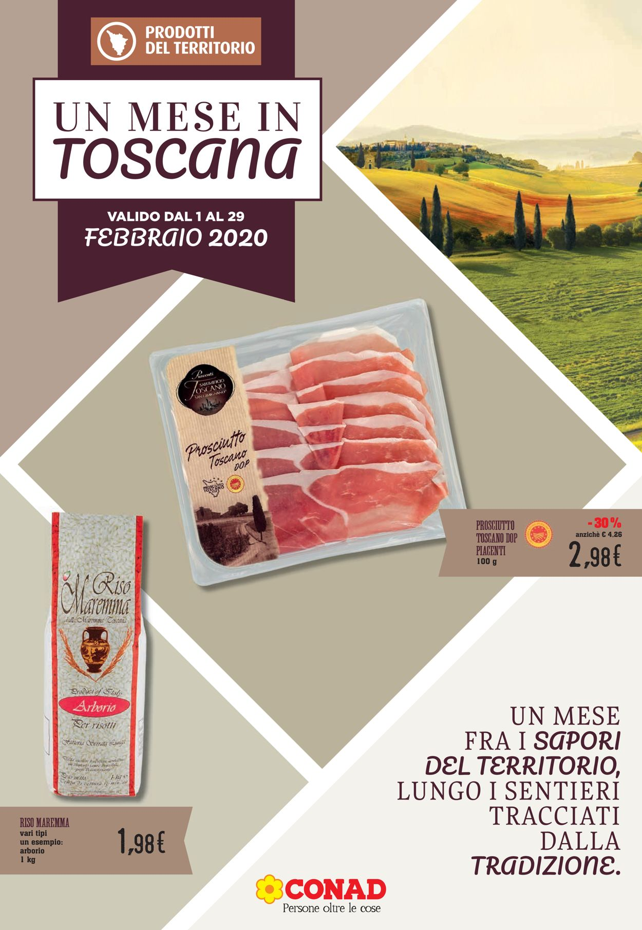 Volantino Conad - Offerte 01/02-29/02/2020