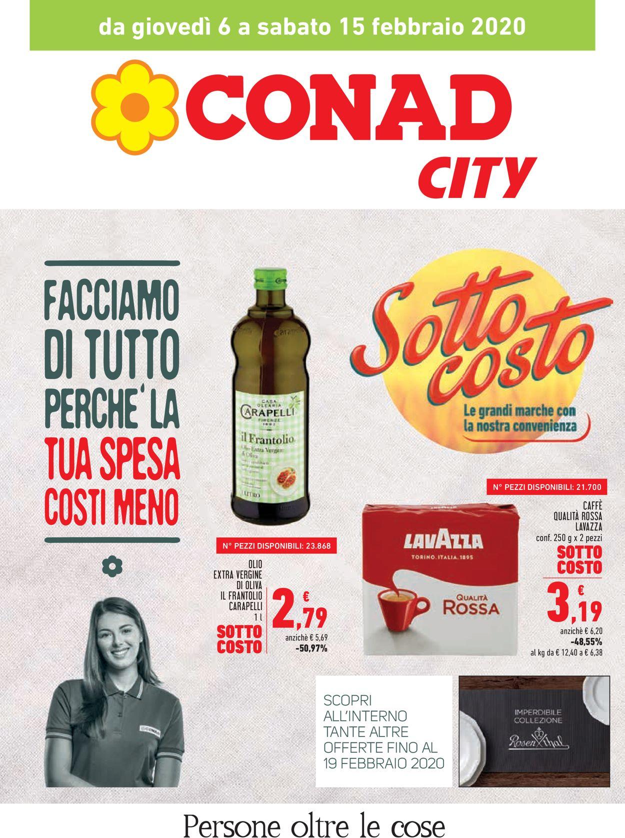 Volantino Conad - Offerte 06/02-19/02/2020