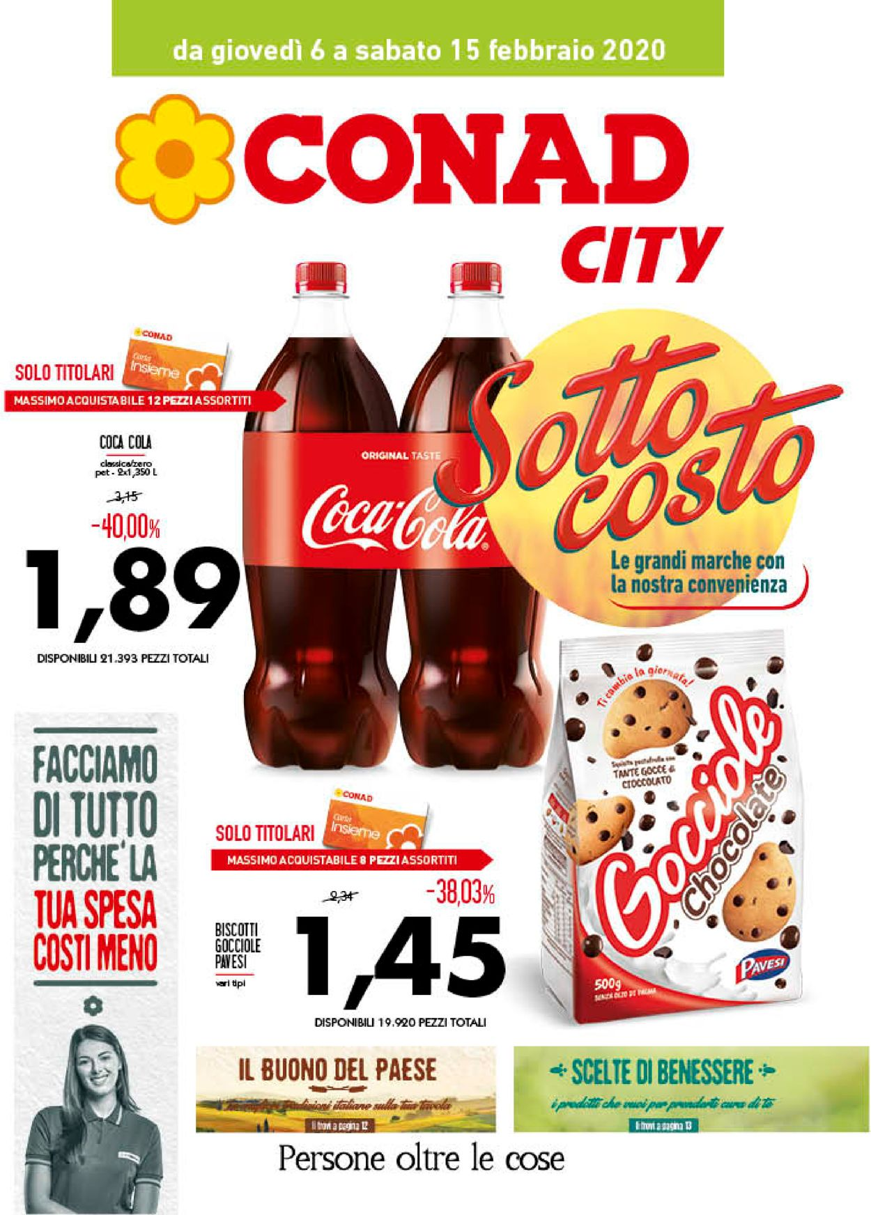 Volantino Conad - Offerte 06/02-15/02/2020