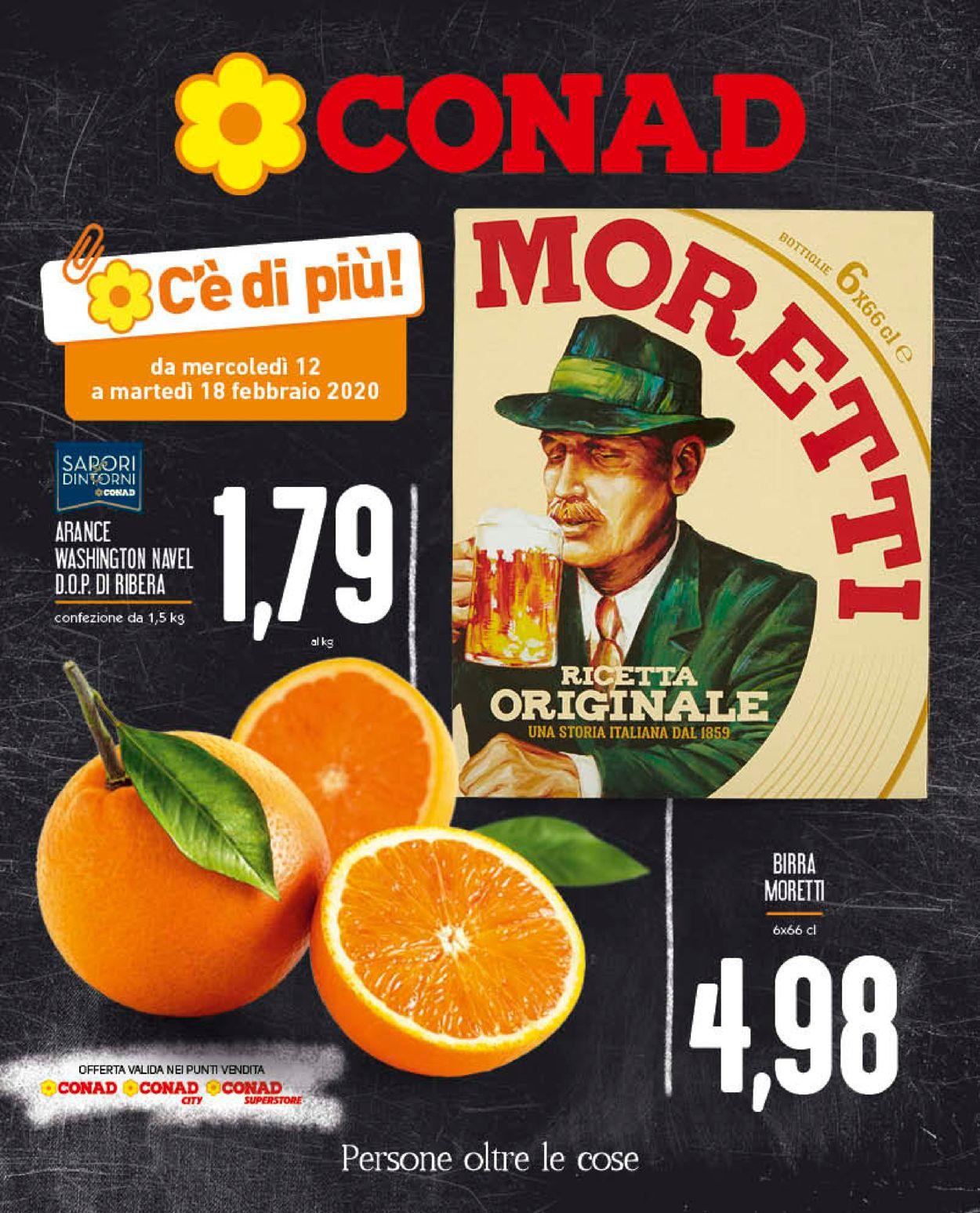 Volantino Conad - Offerte 12/02-18/02/2020