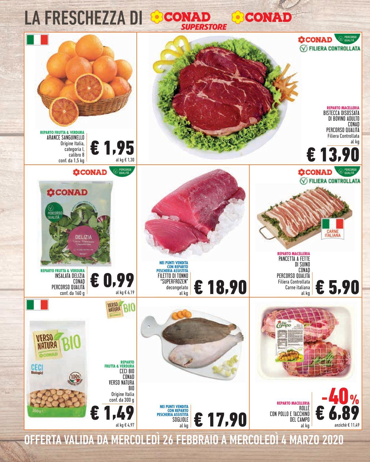 Volantino Conad - Offerte 26/02-04/03/2020 (Pagina 2)