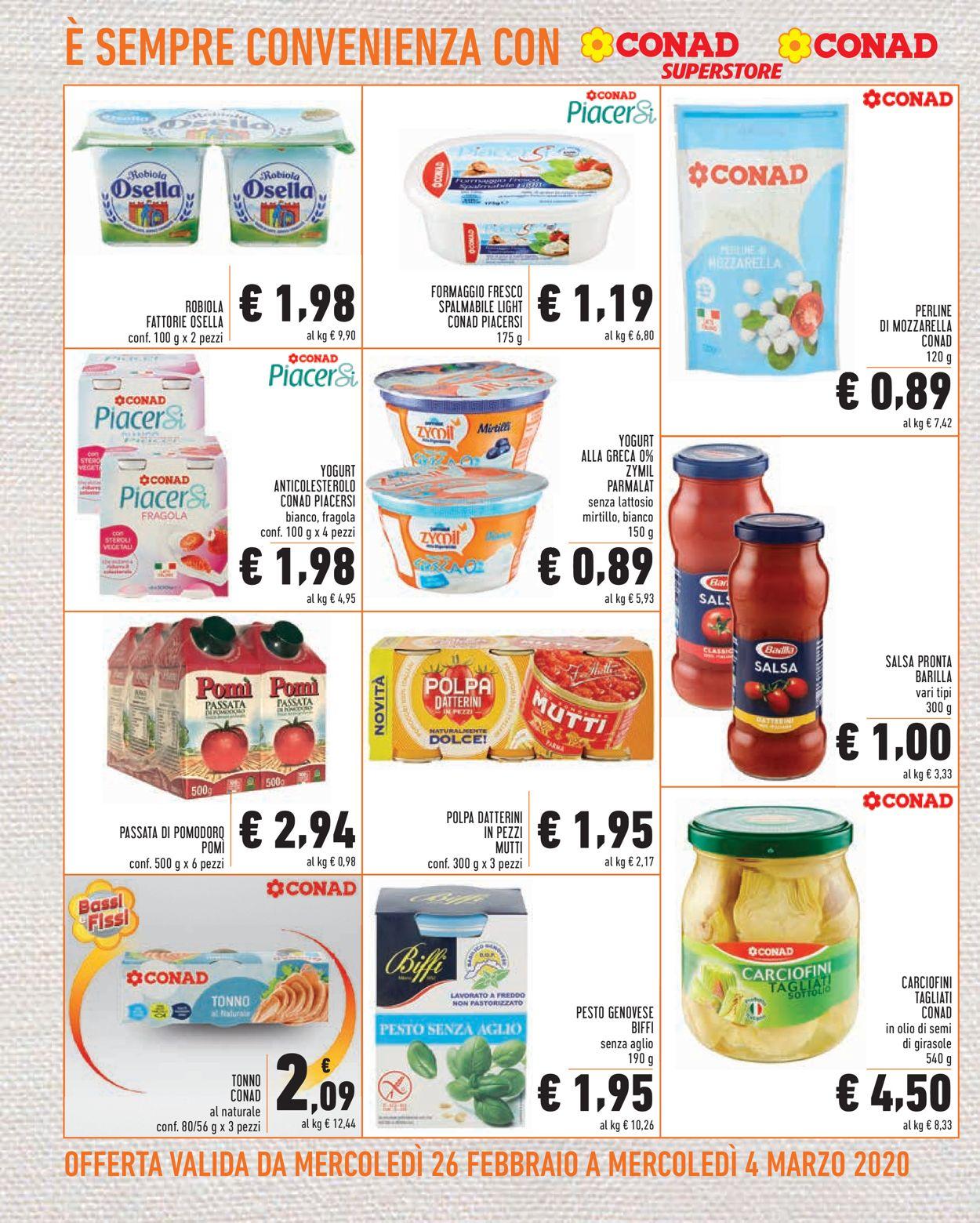 Volantino Conad - Offerte 26/02-04/03/2020 (Pagina 4)