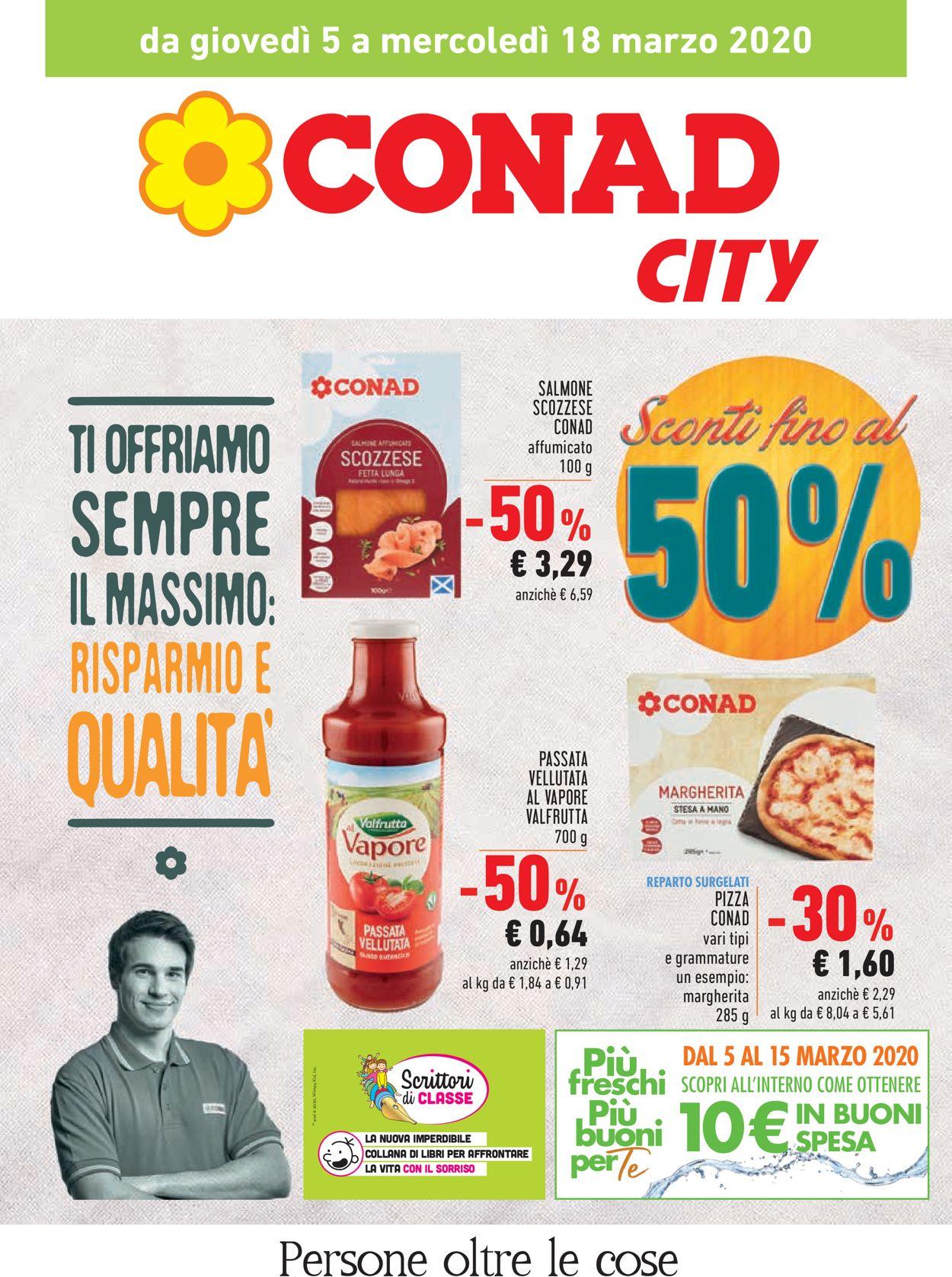 Volantino Conad - Offerte 05/03-18/03/2020
