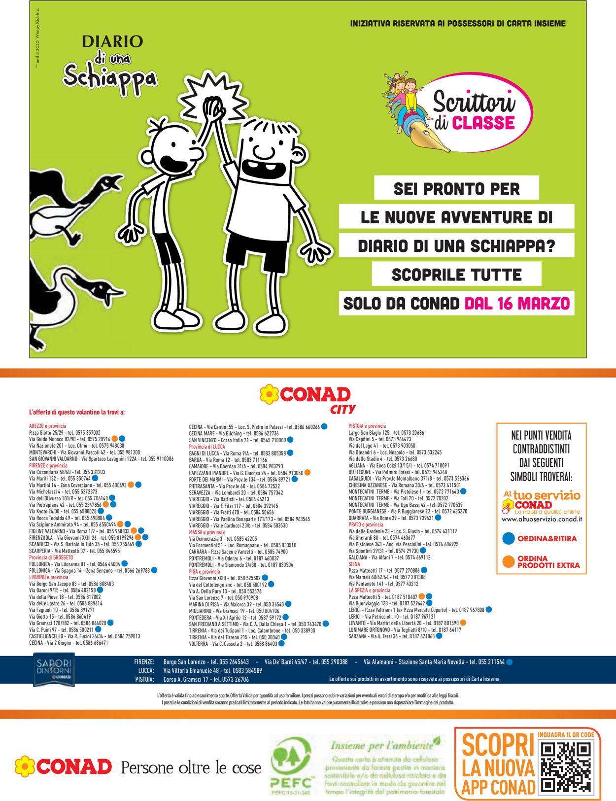Volantino Conad - Offerte 05/03-18/03/2020 (Pagina 20)