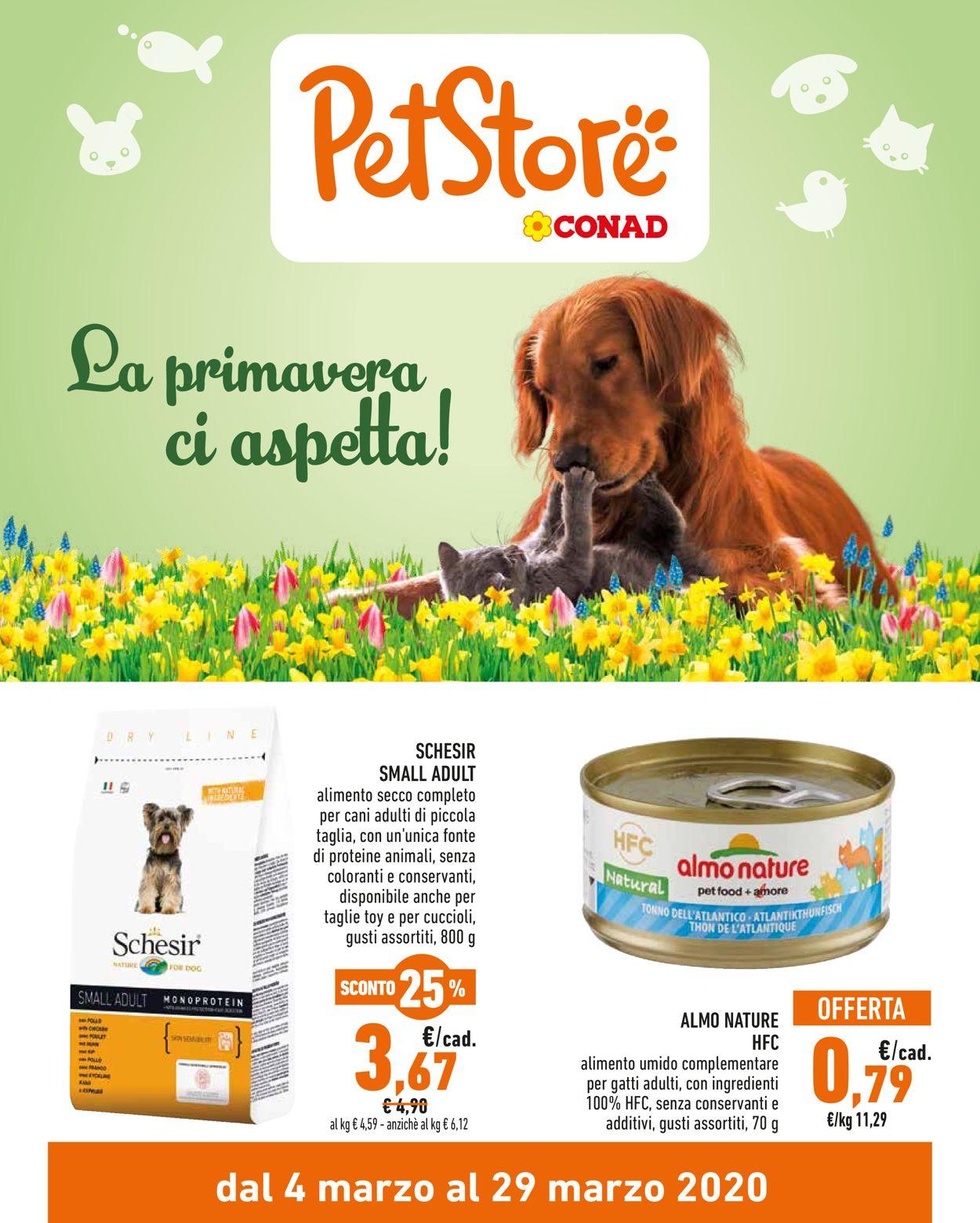 Volantino Conad - Offerte 04/03-29/03/2020