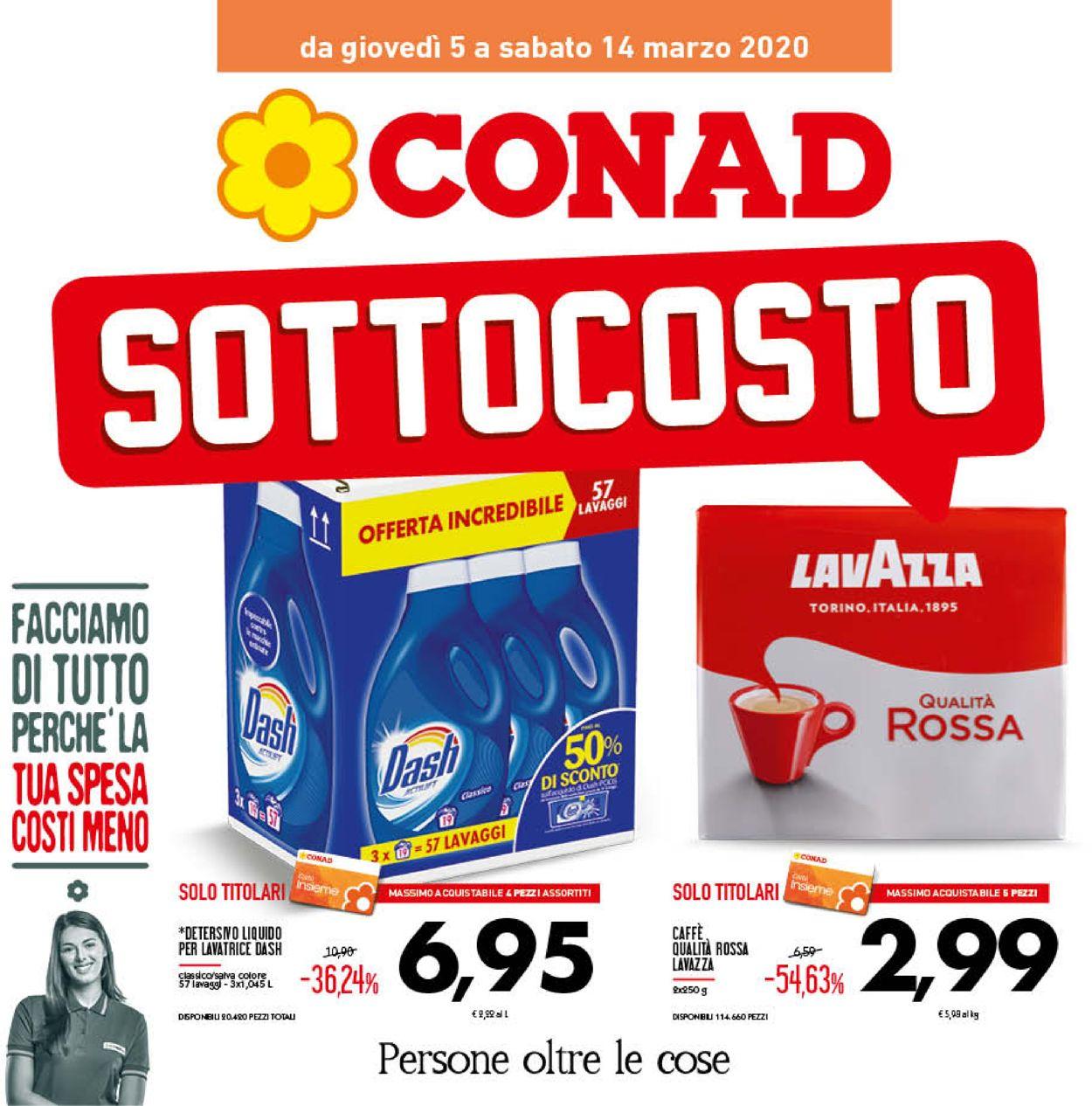 Volantino Conad - Offerte 05/03-14/03/2020