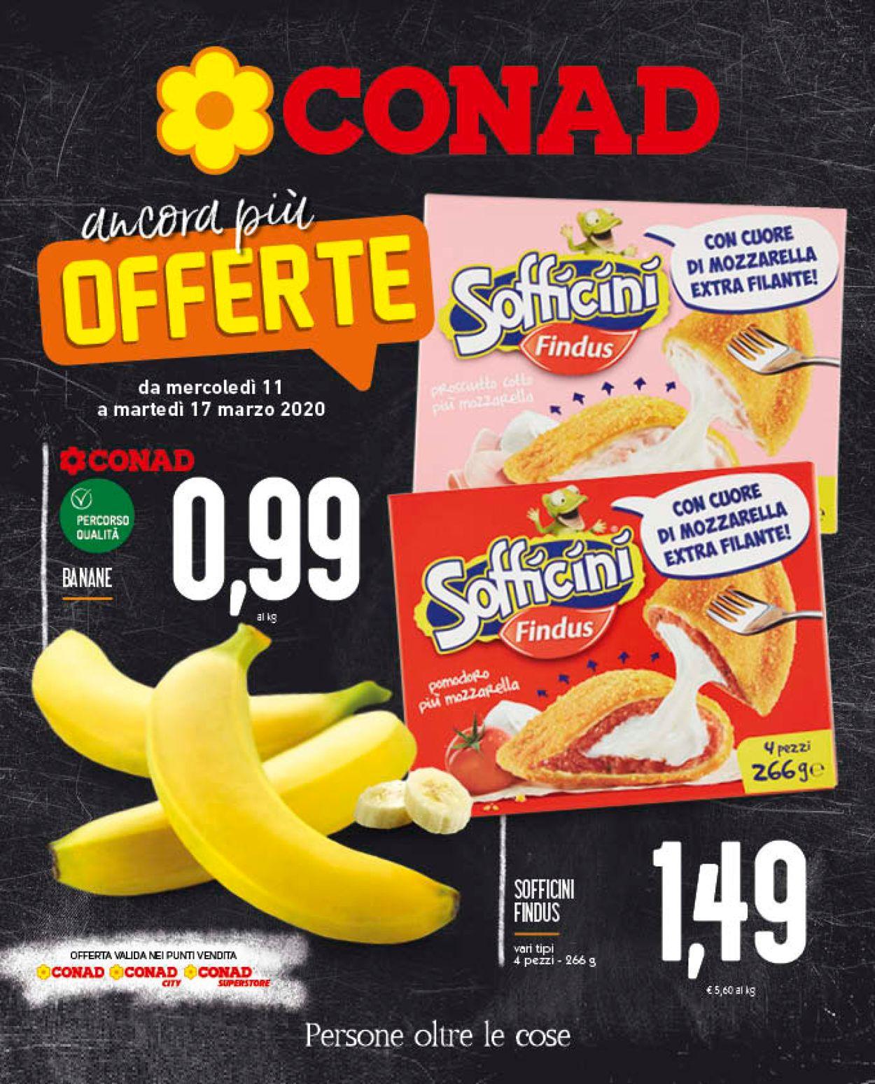 Volantino Conad - Offerte 11/03-17/03/2020