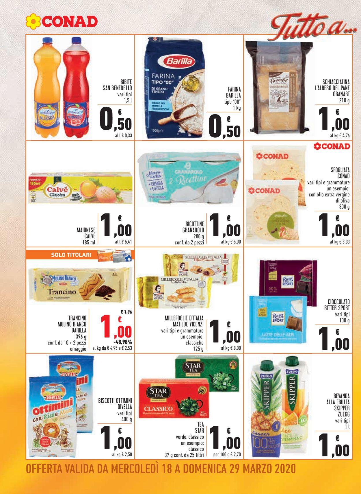 Volantino Conad - Offerte 18/03-29/03/2020 (Pagina 2)