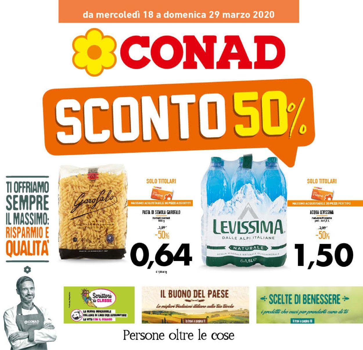 Volantino Conad - Offerte 18/03-29/03/2020