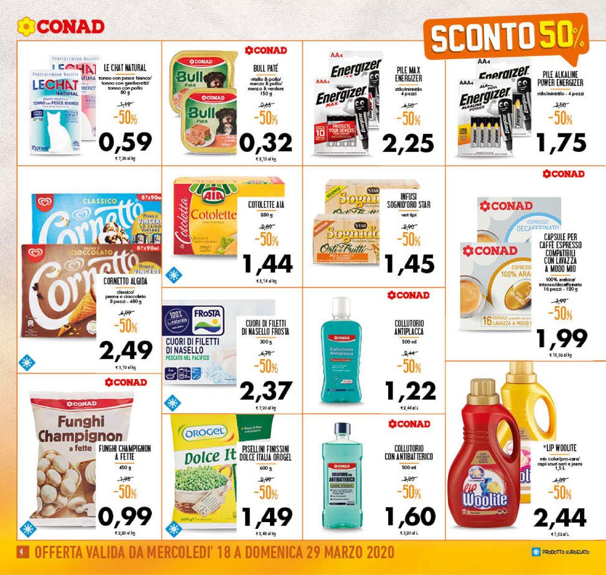 Volantino Conad - Offerte 18/03-29/03/2020 (Pagina 4)