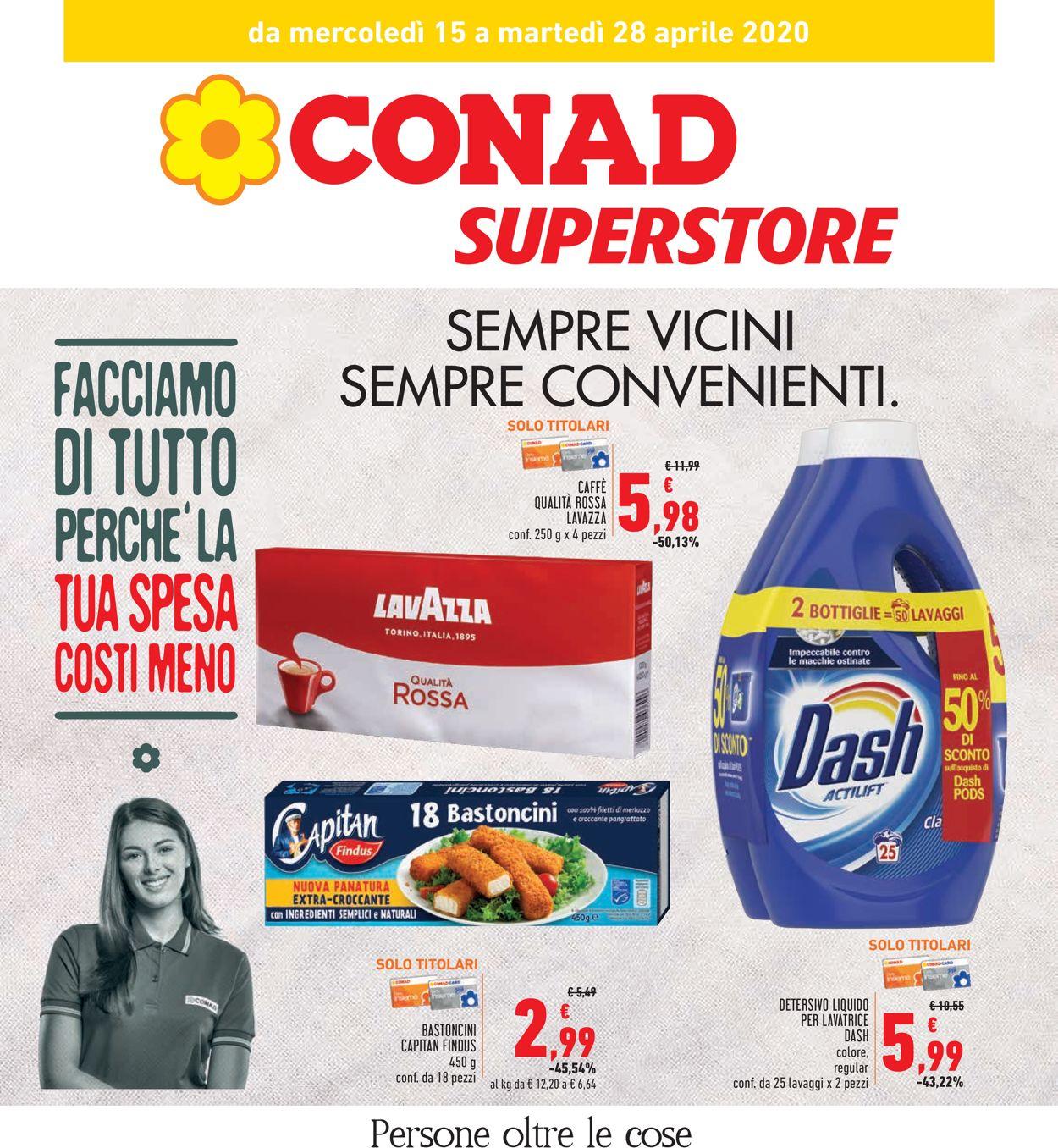 Volantino Conad - Offerte 15/04-28/04/2020
