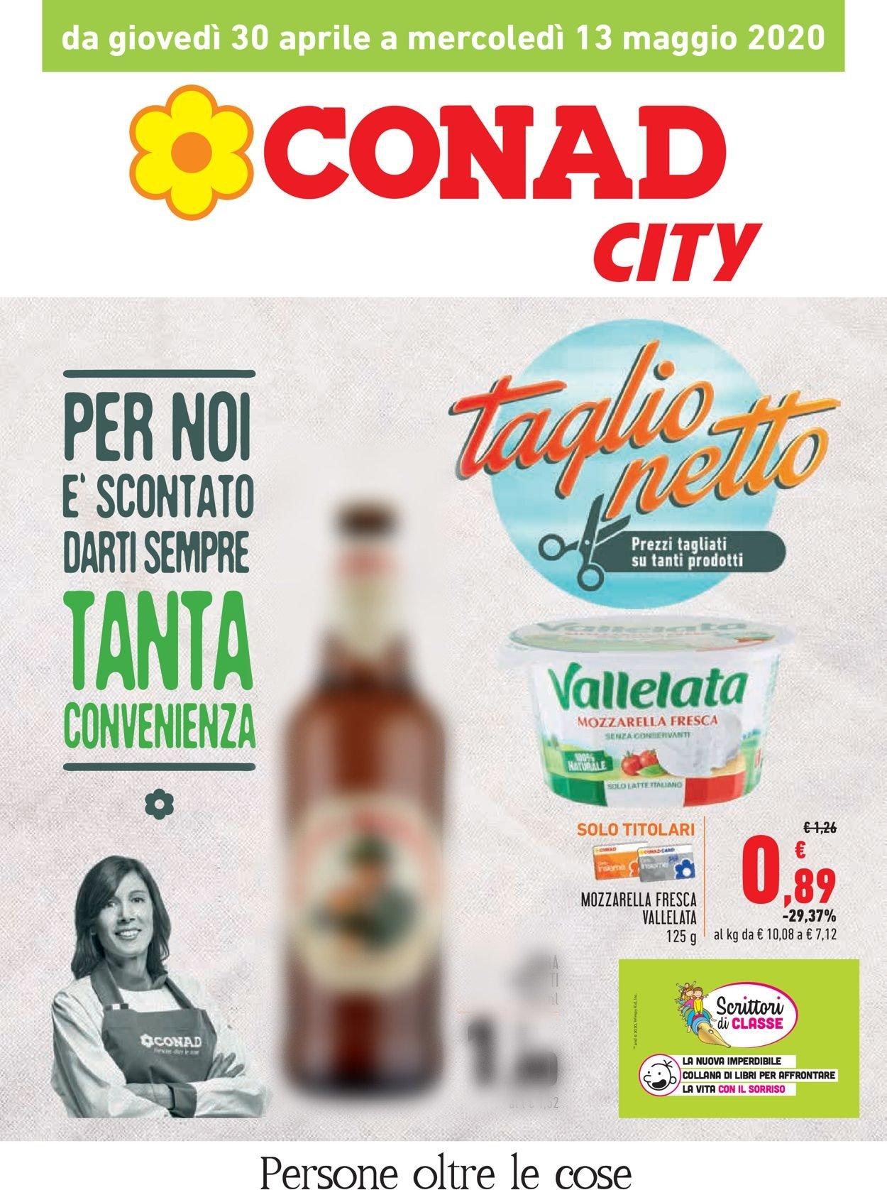 Volantino Conad - Offerte 30/04-13/05/2020