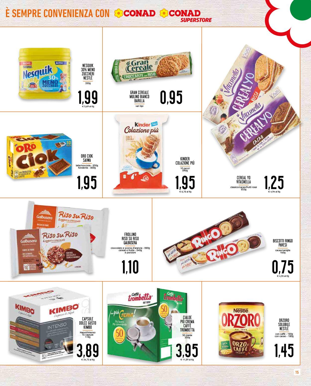 Volantino Conad - Offerte 29/04-10/05/2020 (Pagina 15)