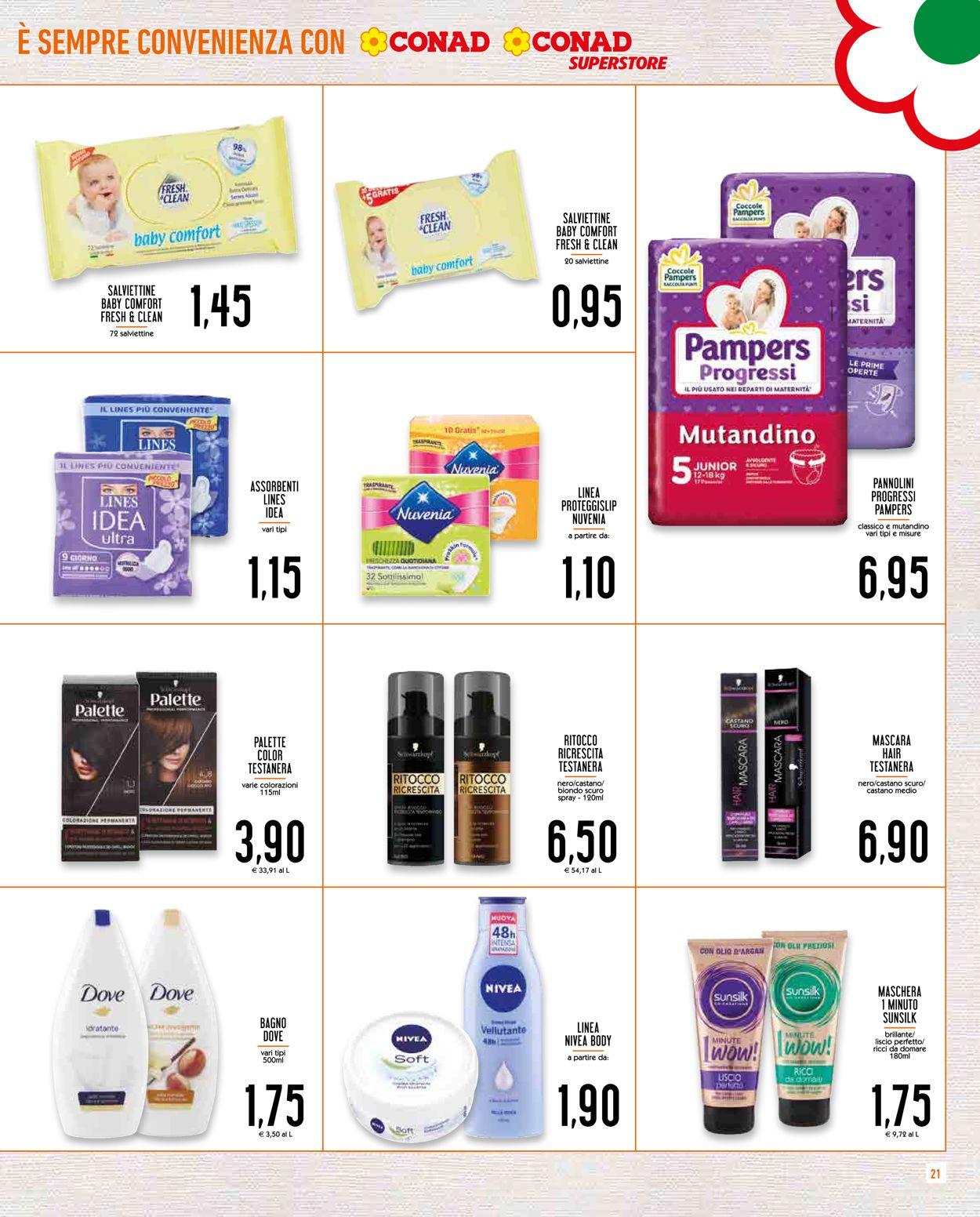 Volantino Conad - Offerte 29/04-10/05/2020 (Pagina 21)