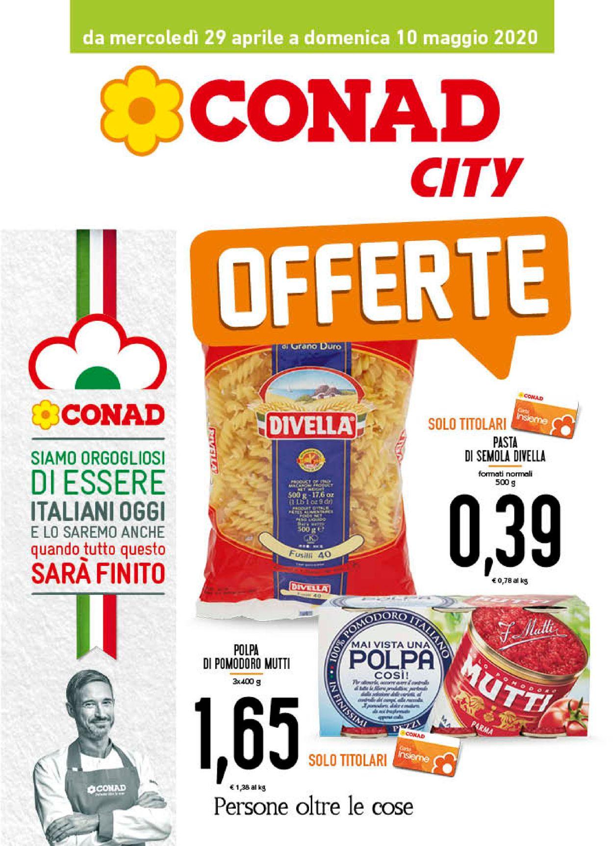 Volantino Conad - Offerte 29/04-10/05/2020