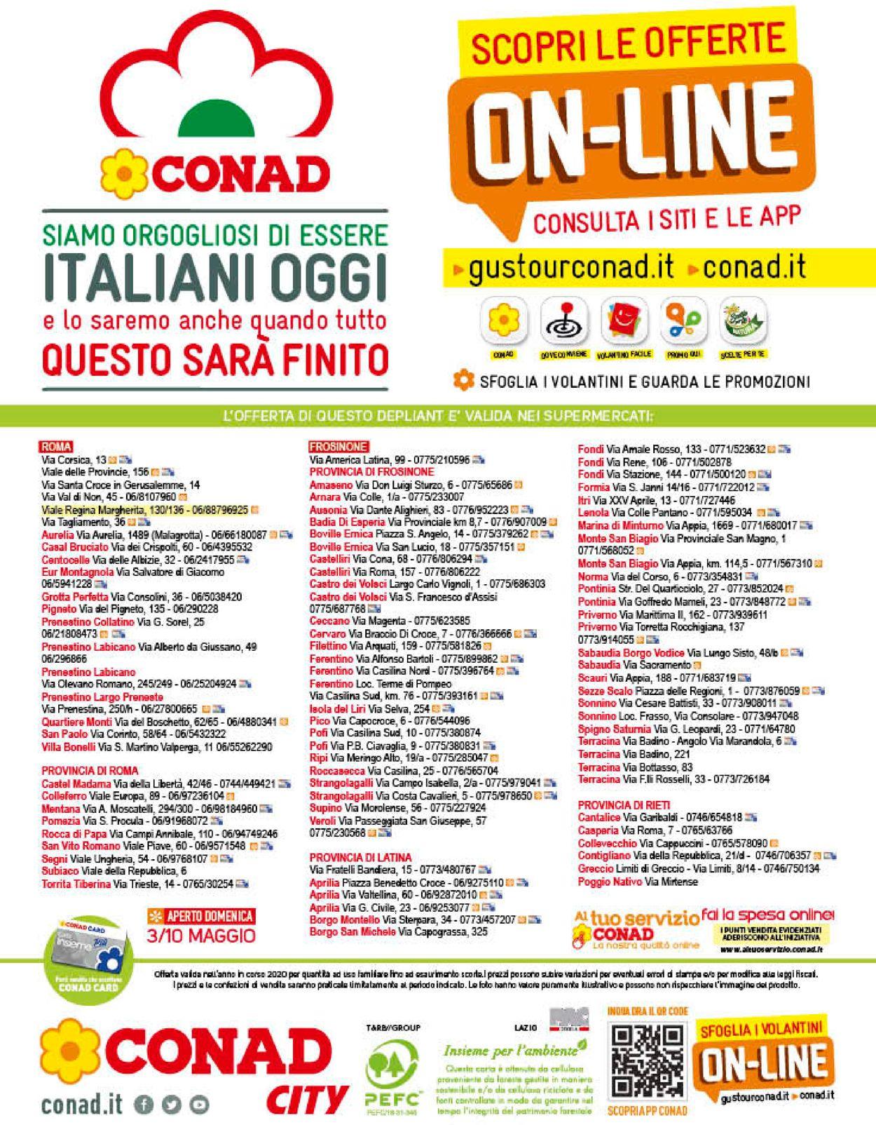 Volantino Conad - Offerte 29/04-10/05/2020 (Pagina 16)