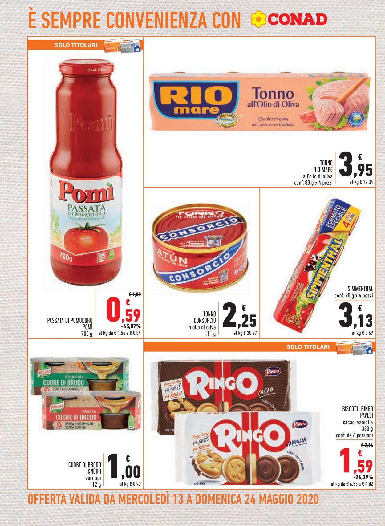 Volantino Conad - Offerte 13/05-24/05/2020 (Pagina 10)