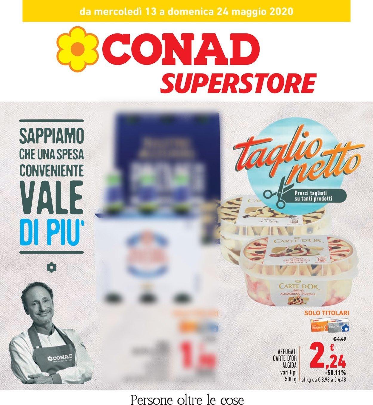 Volantino Conad - Offerte 13/05-24/05/2020
