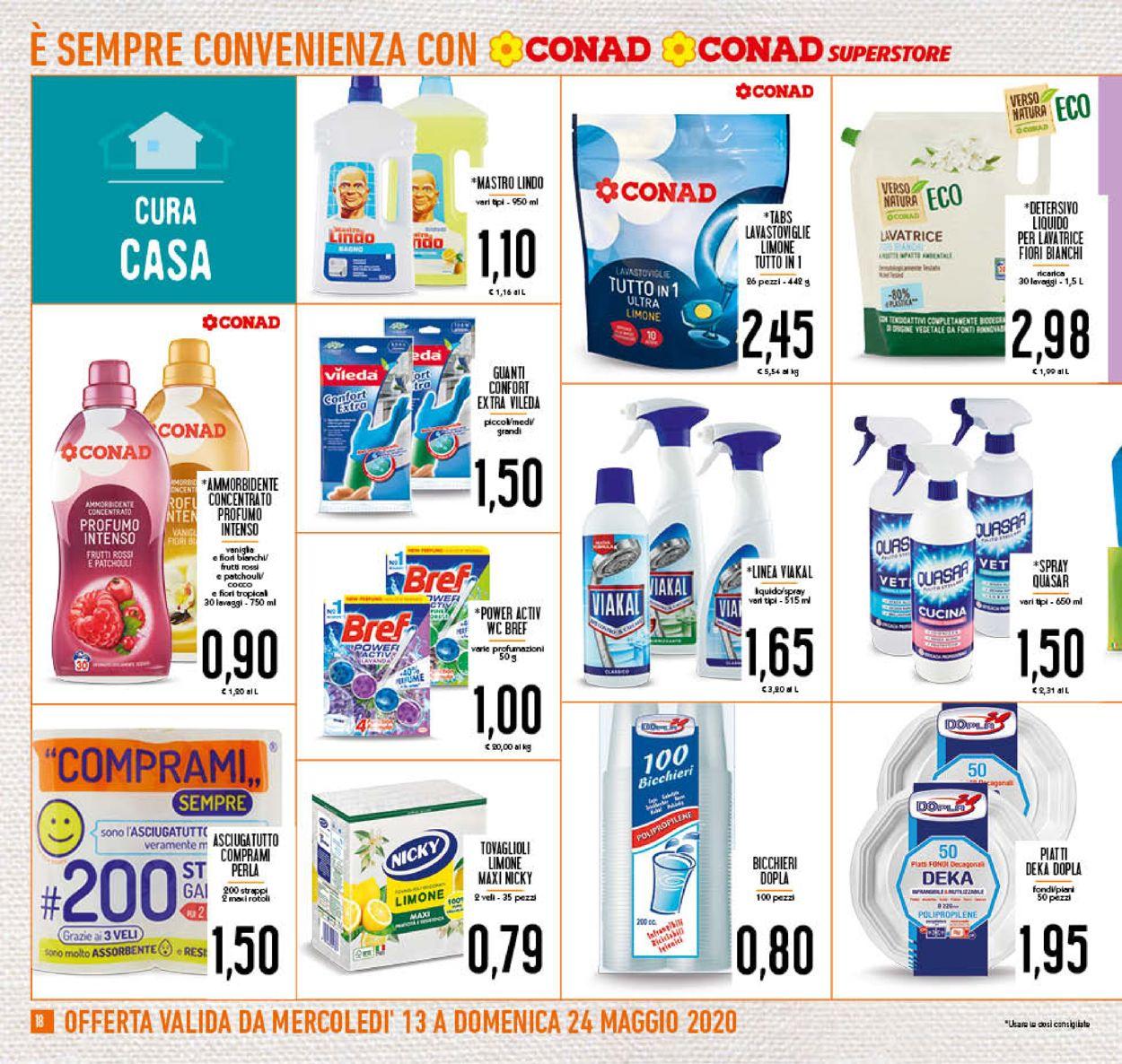 Volantino Conad - Offerte 13/05-24/05/2020 (Pagina 18)