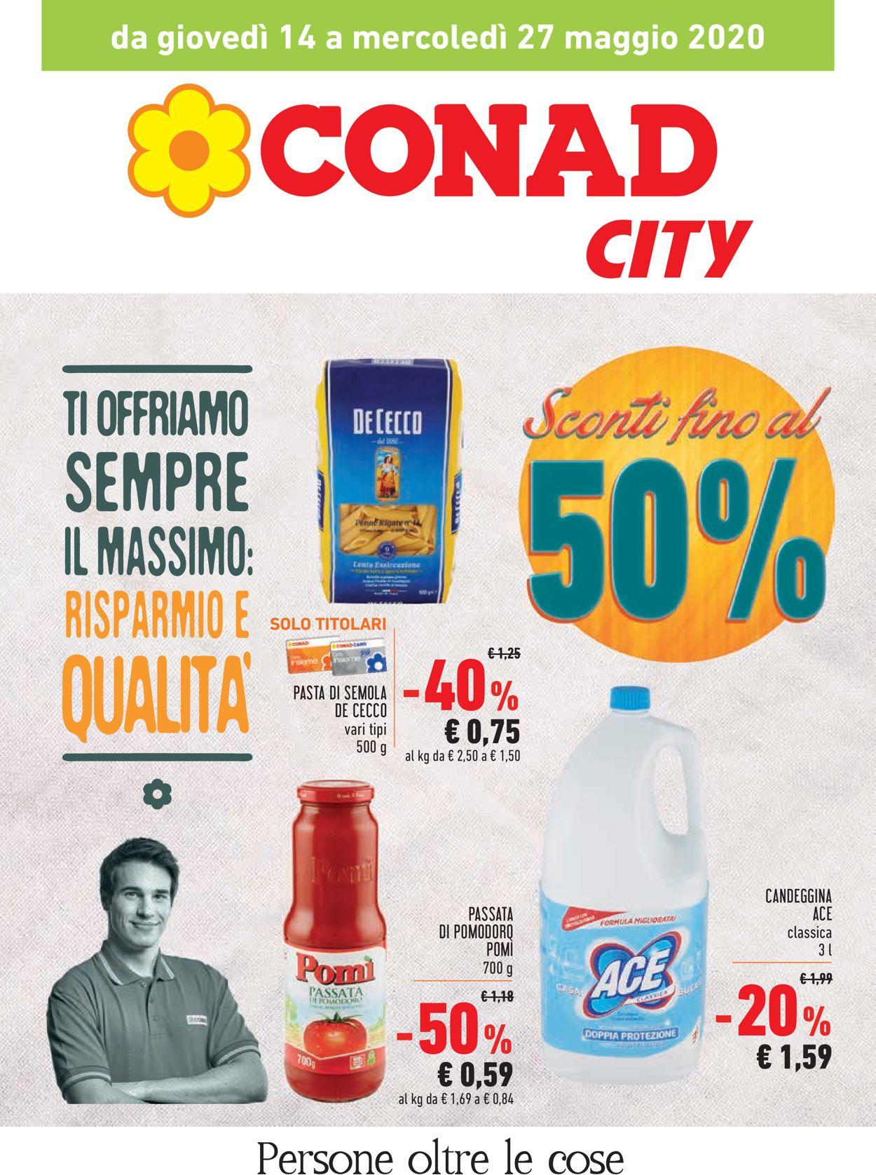 Volantino Conad - Offerte 14/05-27/05/2020