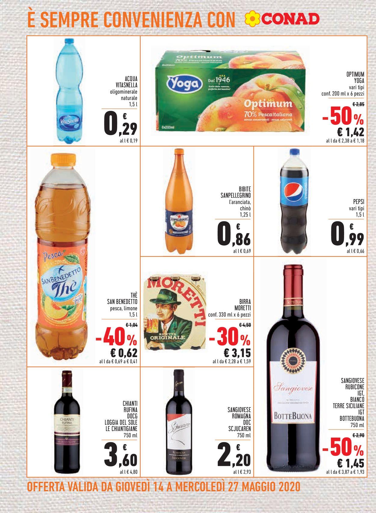 Volantino Conad - Offerte 14/05-27/05/2020 (Pagina 14)