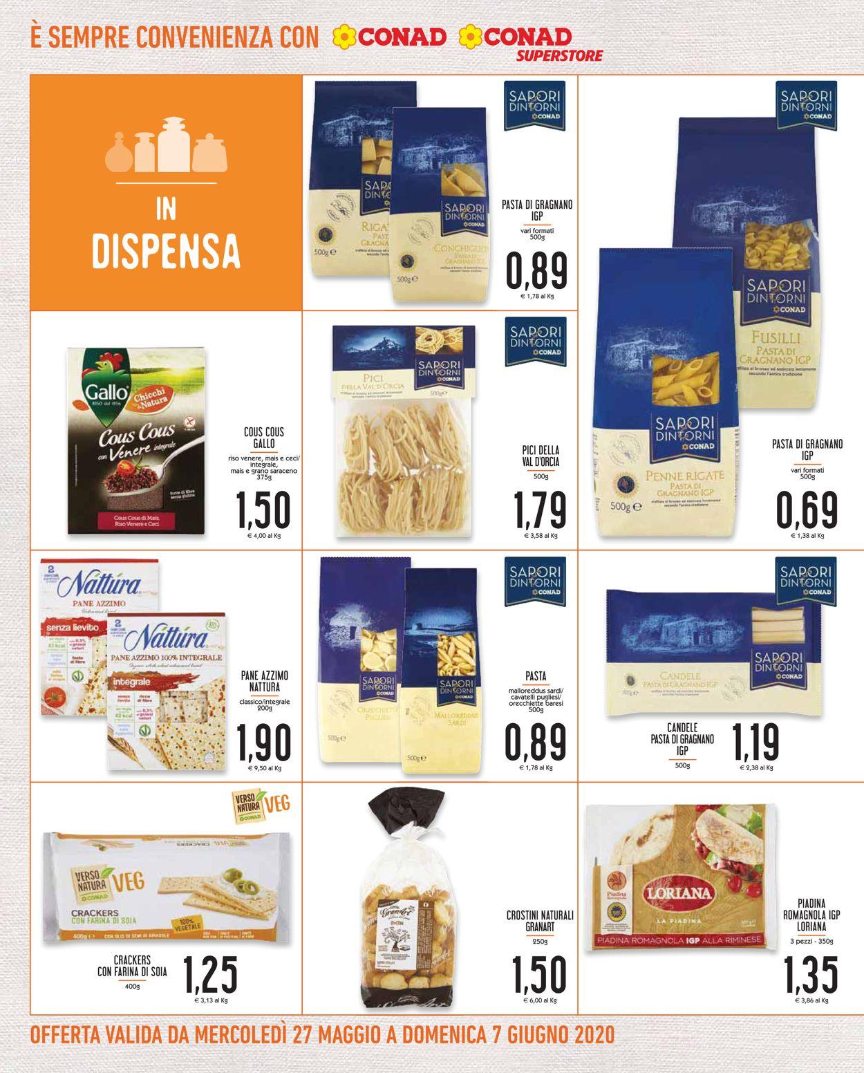 Volantino Conad - Offerte 27/05-07/06/2020 (Pagina 10)