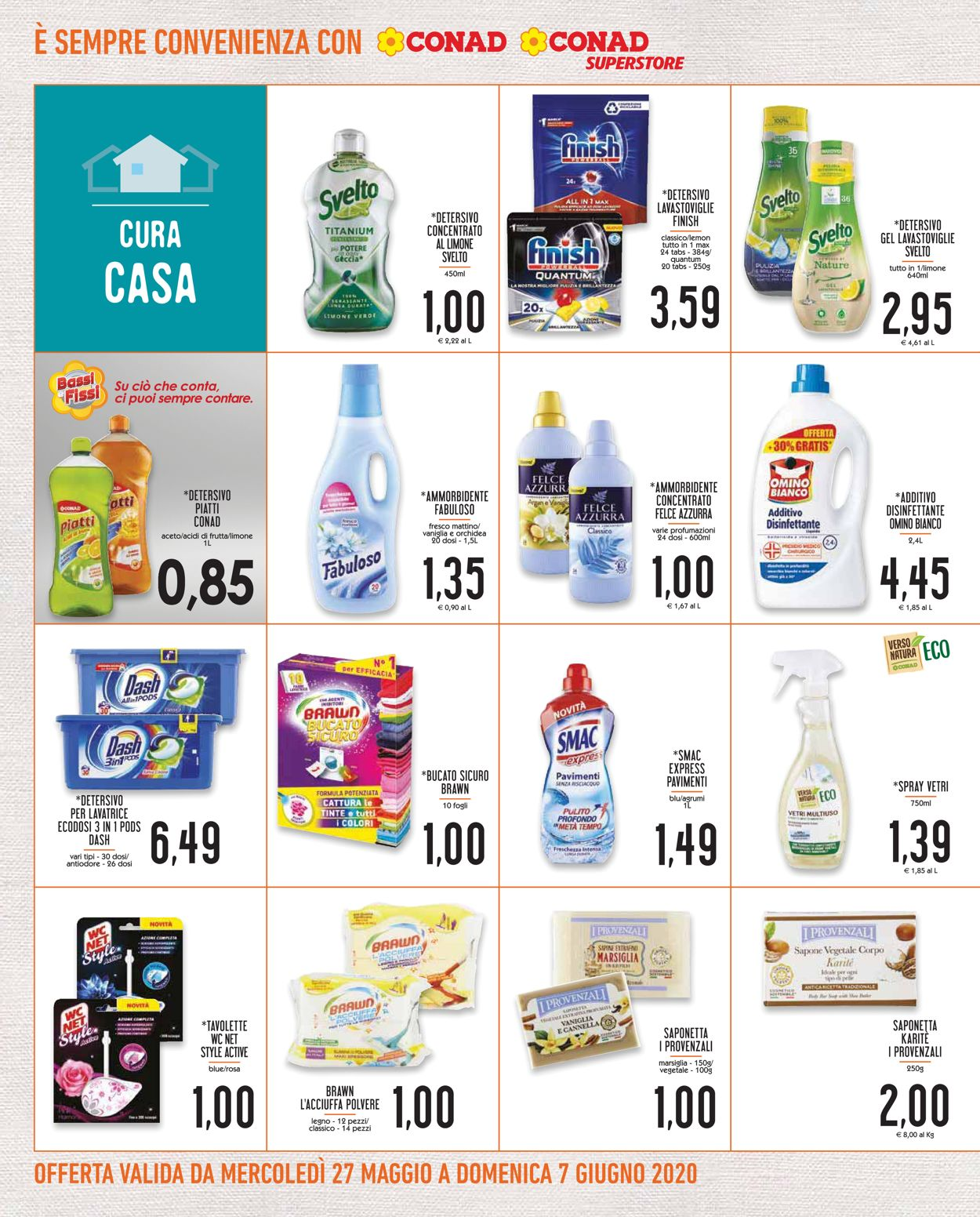 Volantino Conad - Offerte 27/05-07/06/2020 (Pagina 18)