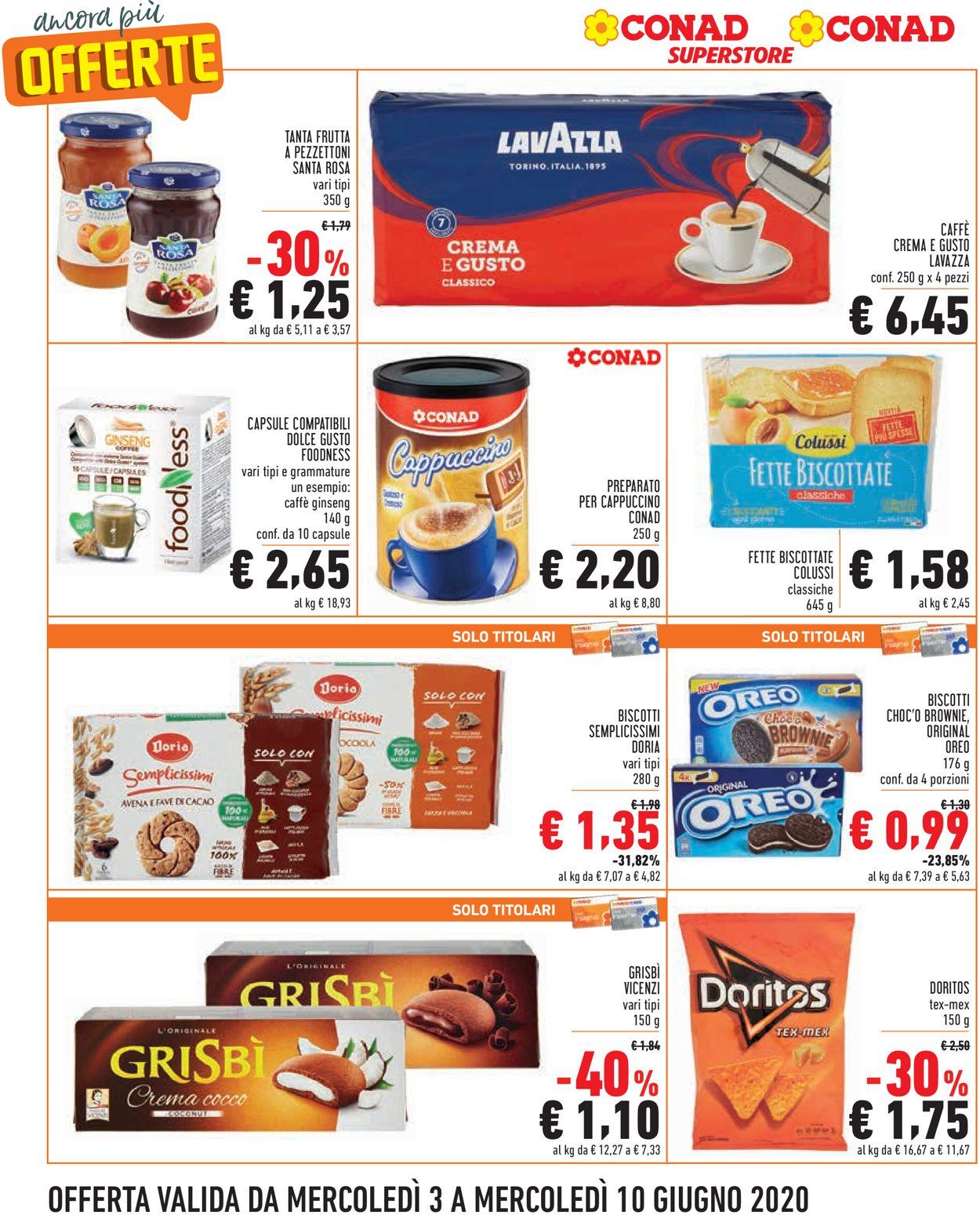 Volantino Conad - Offerte 03/06-10/06/2020 (Pagina 6)