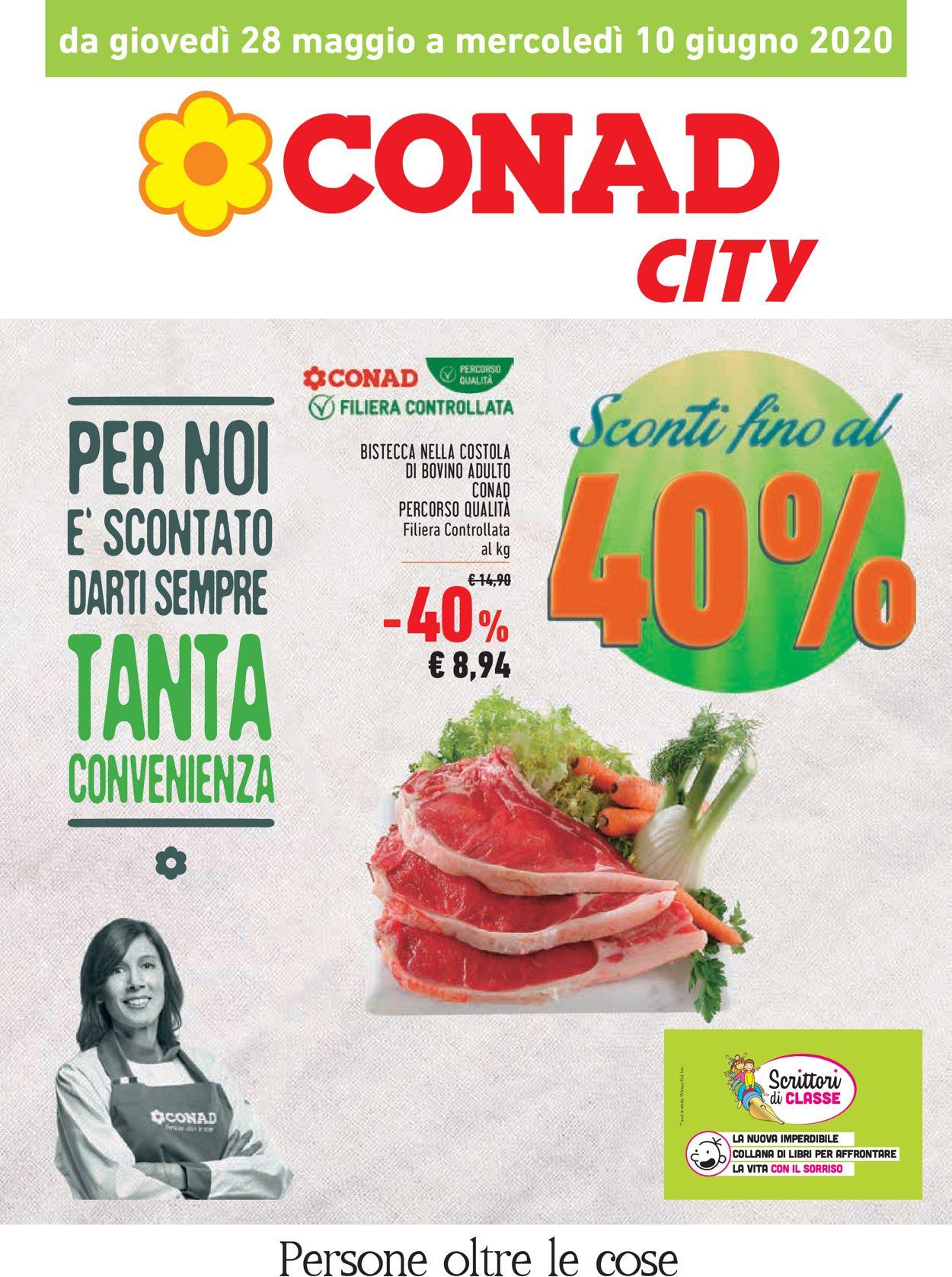 Volantino Conad - Offerte 28/05-10/06/2020