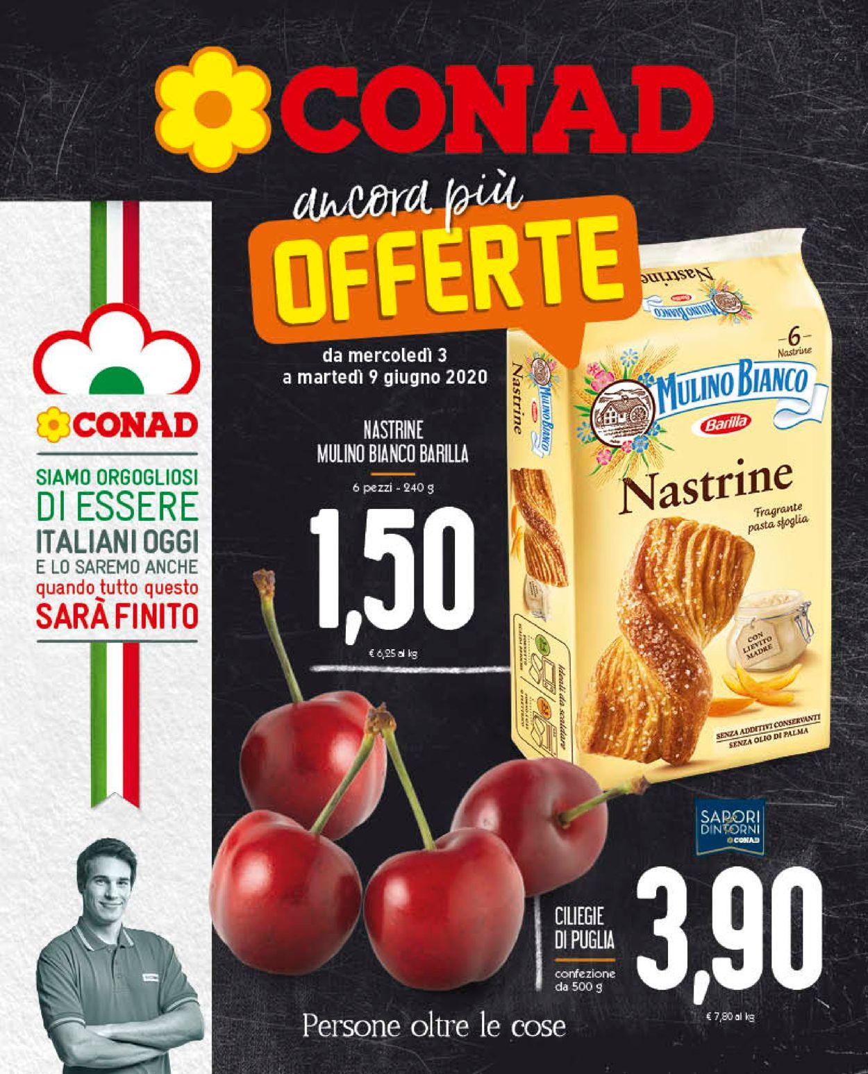Volantino Conad - Offerte 03/06-09/06/2020