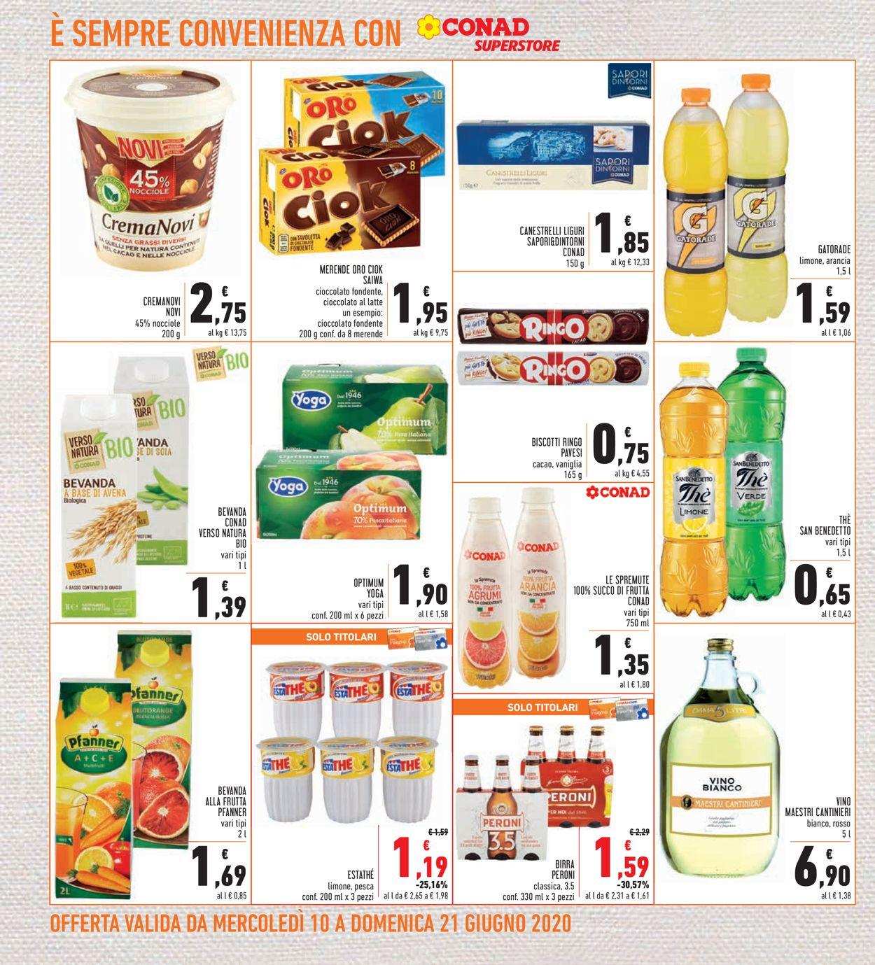 Volantino Conad - Offerte 10/06-21/06/2020 (Pagina 18)