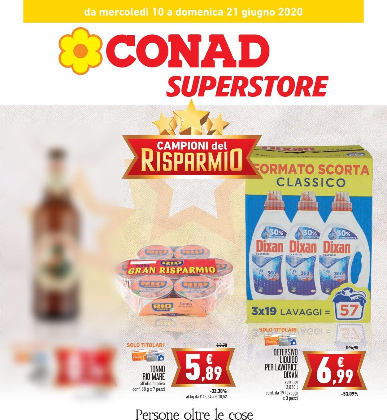 Volantino Conad - Offerte 10/06-21/06/2020