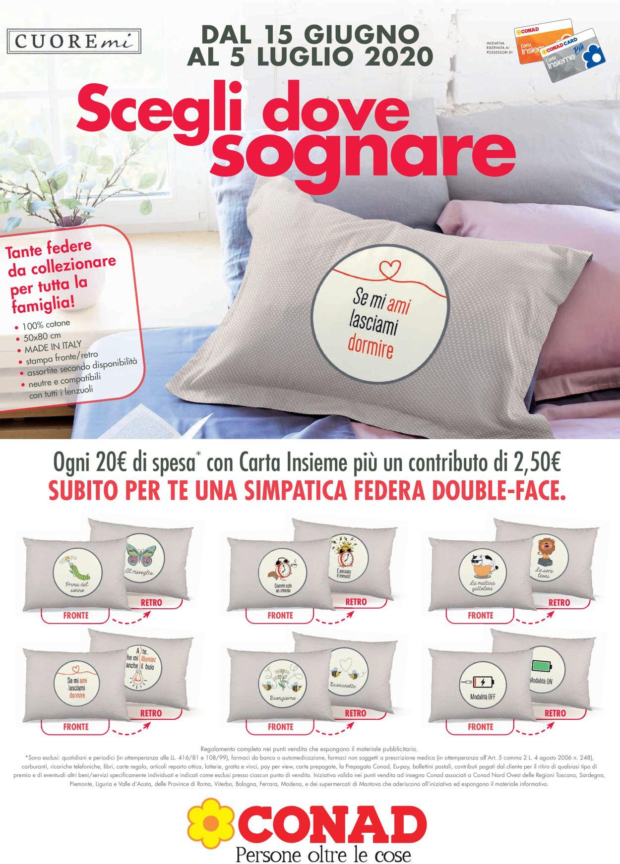 Volantino Conad - Offerte 15/06-05/07/2020