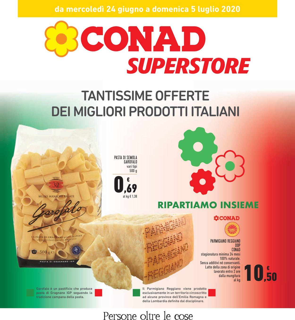Volantino Conad - Offerte 24/06-05/07/2020