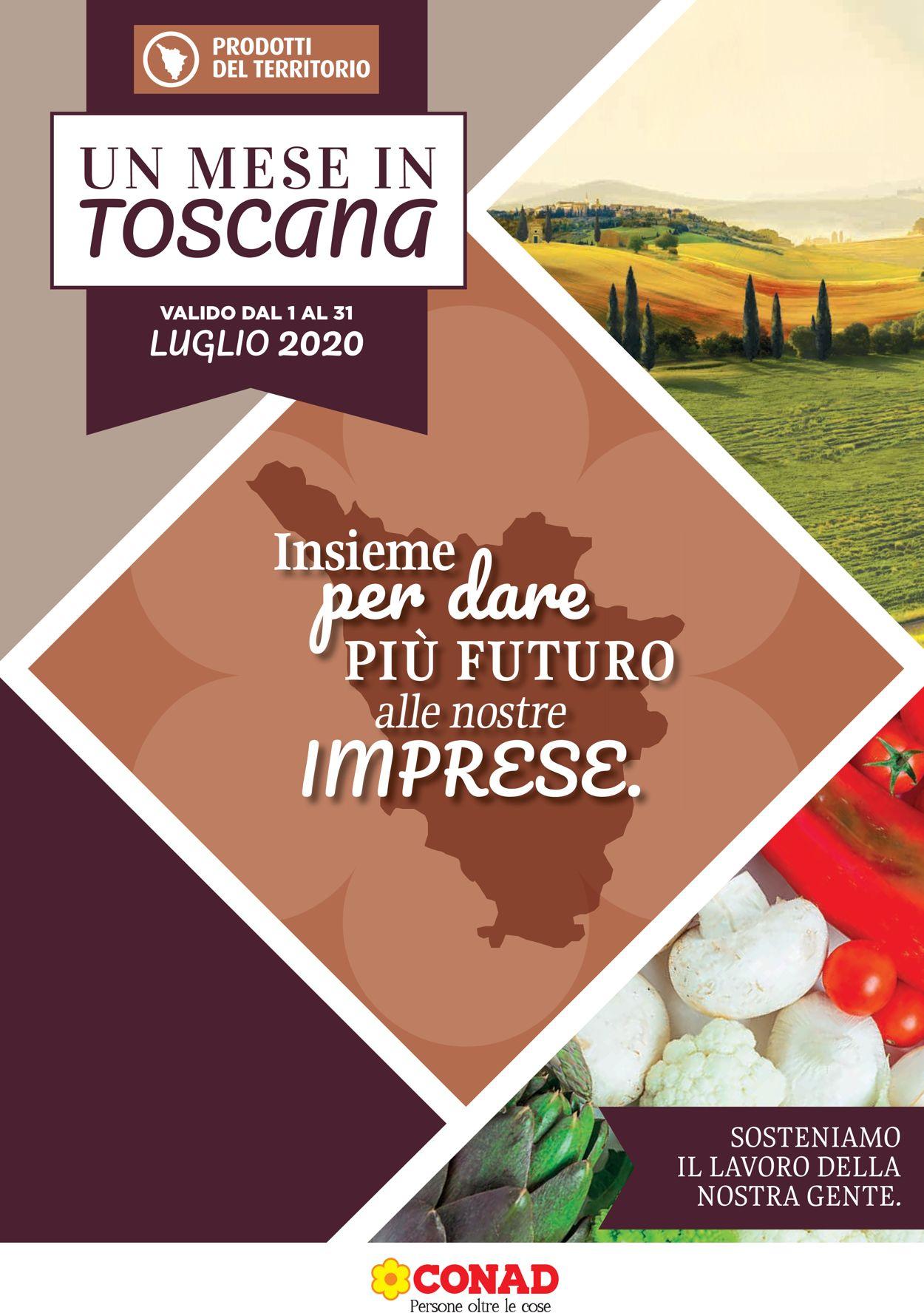Volantino Conad - Offerte 01/07-31/07/2020
