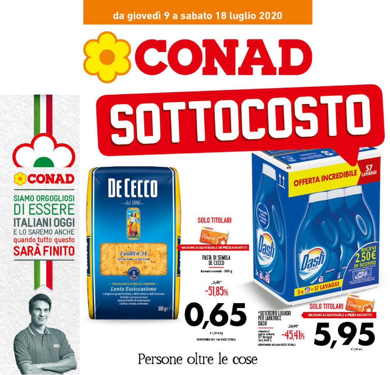 Volantino Conad - Offerte 09/07-18/07/2020