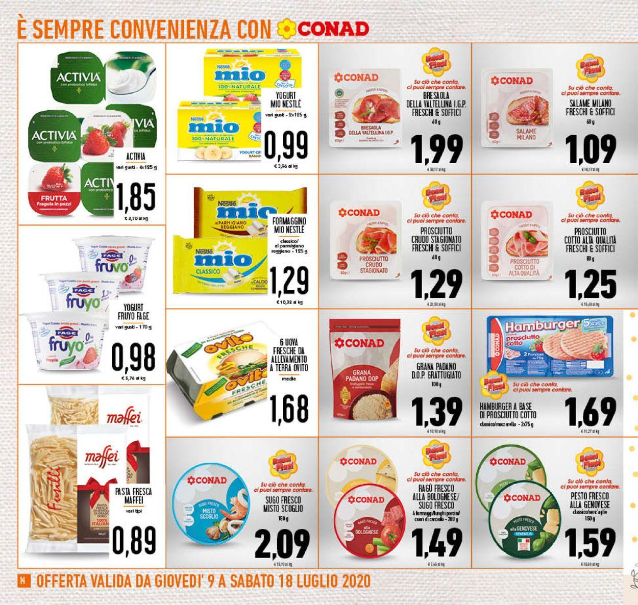 Volantino Conad - Offerte 09/07-18/07/2020 (Pagina 14)